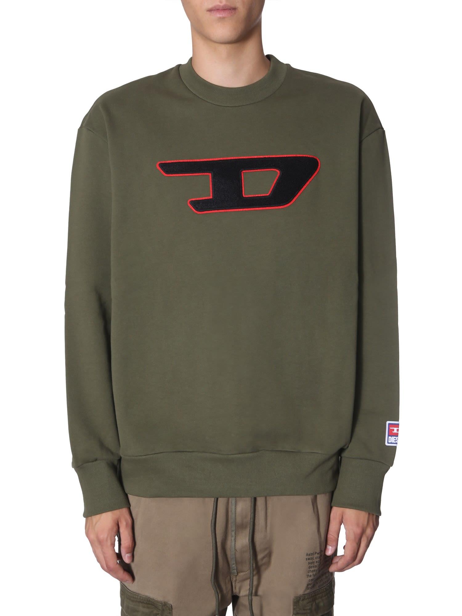 Diesel S-crew-division-d Sweater
