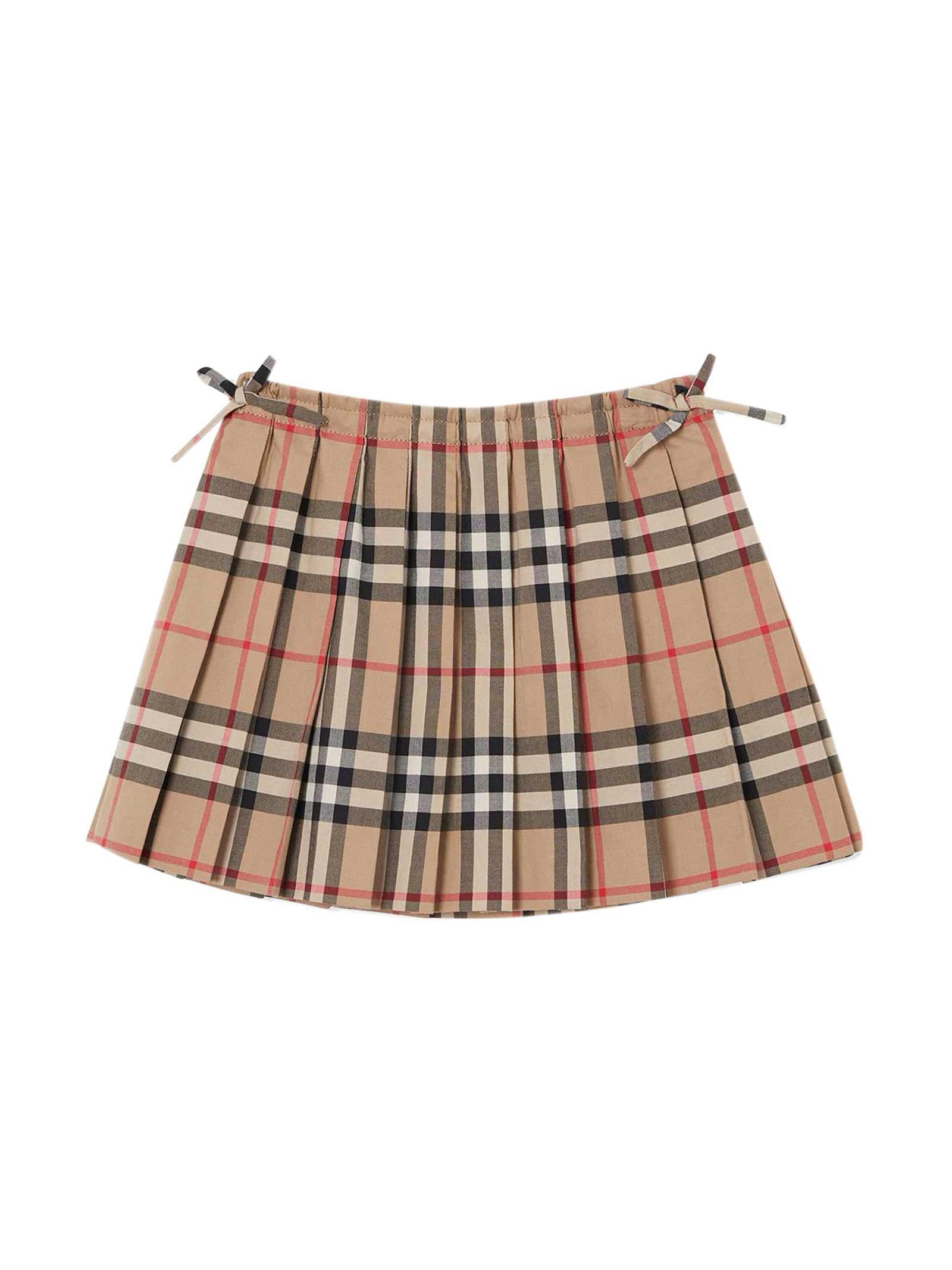 Burberry Babies' Beige Skirt