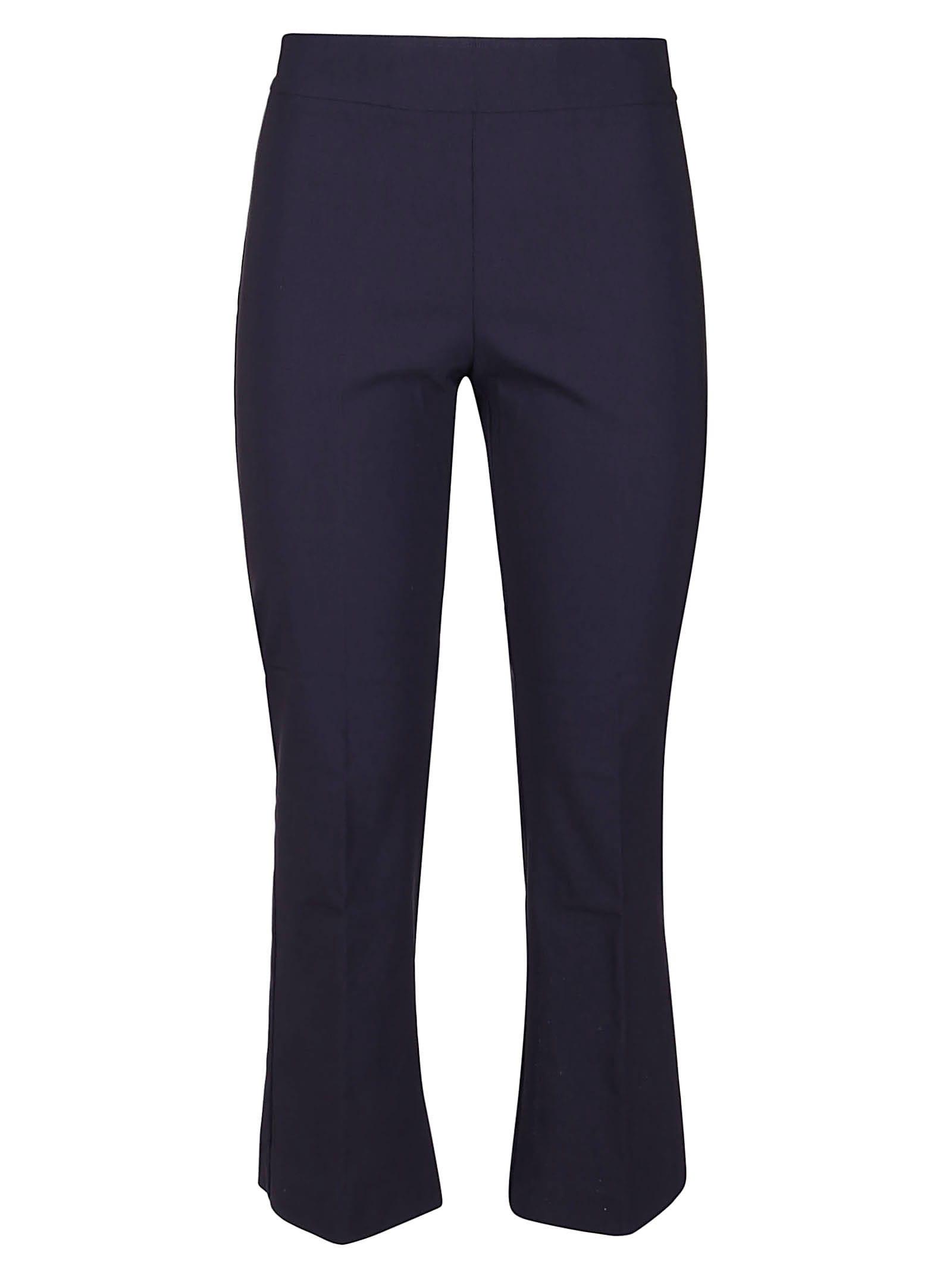 Blue Viscose Trousers