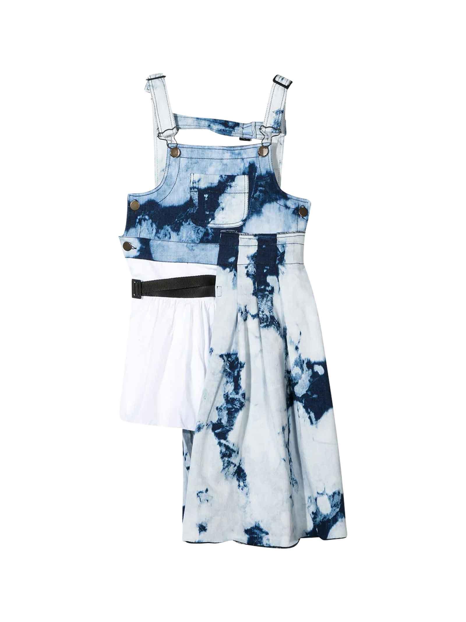 Buy Araia Kids Denim Dress online, shop Araia Kids with free shipping