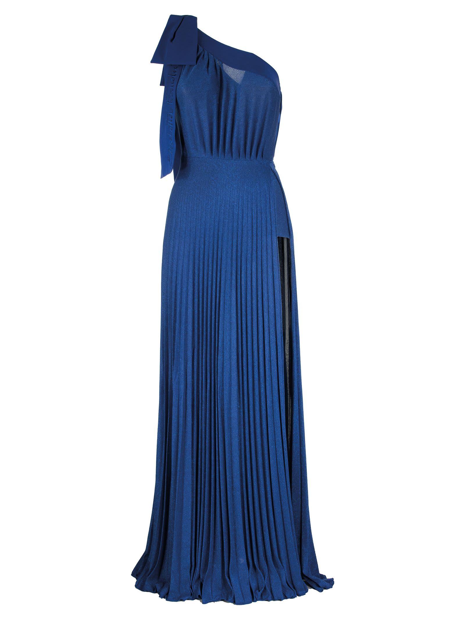 Buy Elisabetta Franchi Celyn B. One-shoulder Maxi Dress online, shop Elisabetta Franchi Celyn B. with free shipping