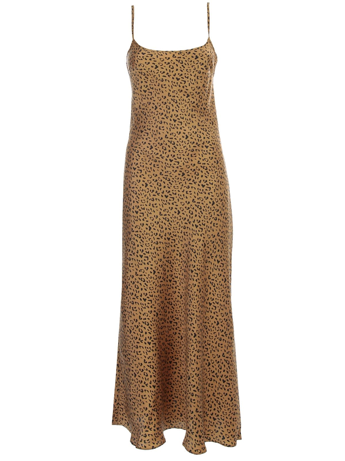 Buy RIXO Dress Thin Straps Animalier online, shop RIXO with free shipping
