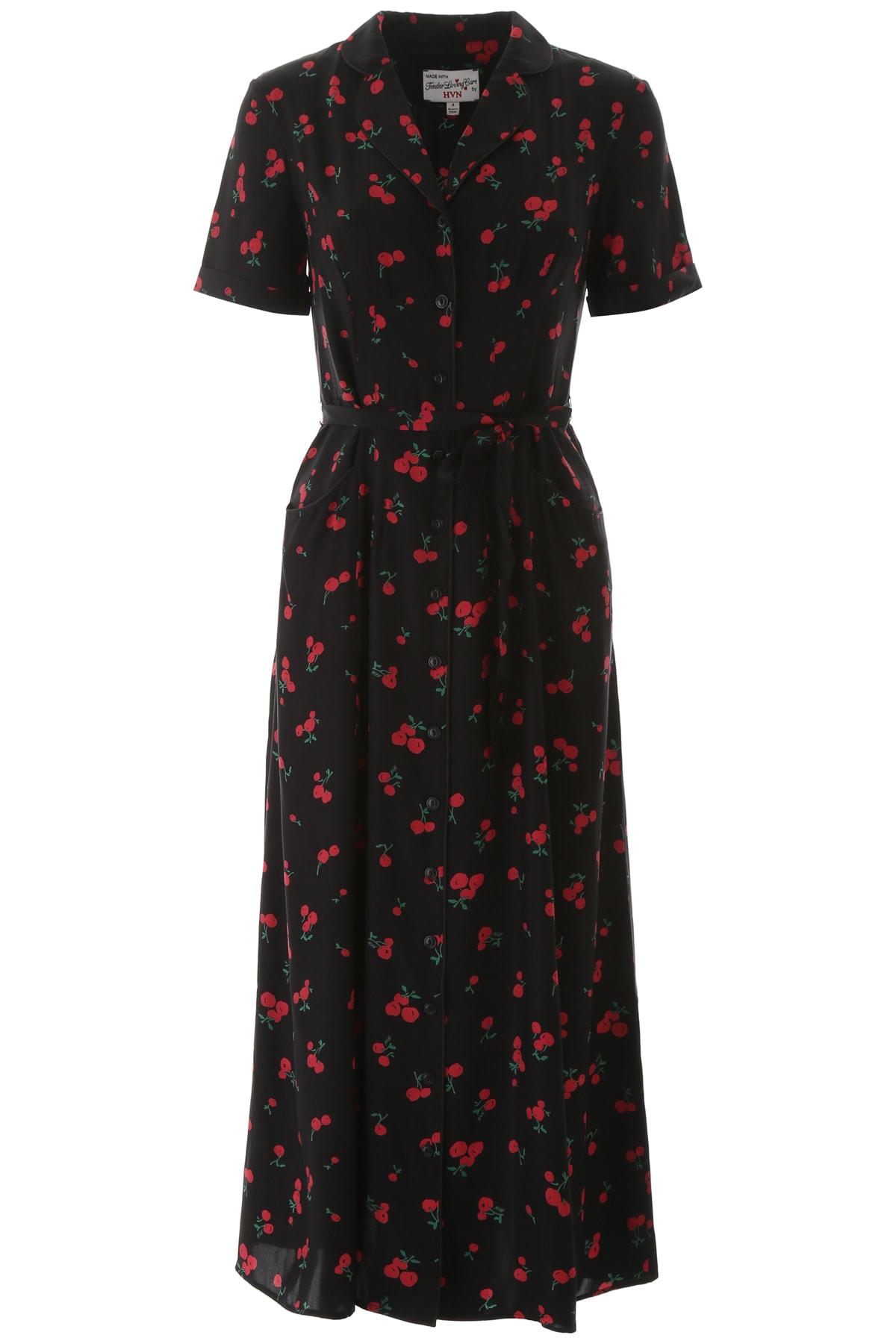HVN Silk Maria Dress