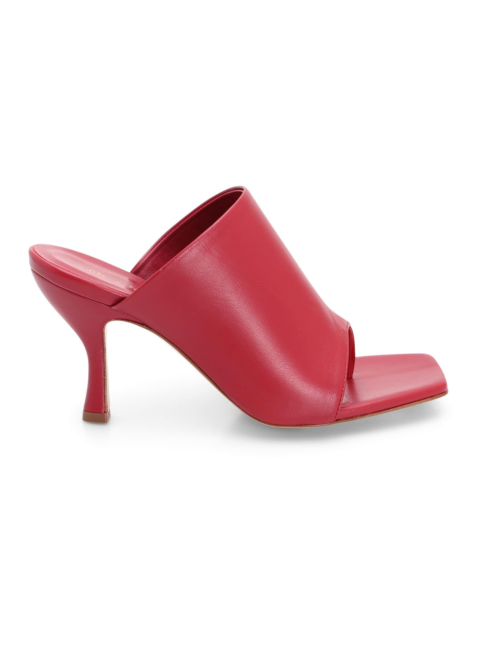 Gia Borghini perni 02 Leather Sandal