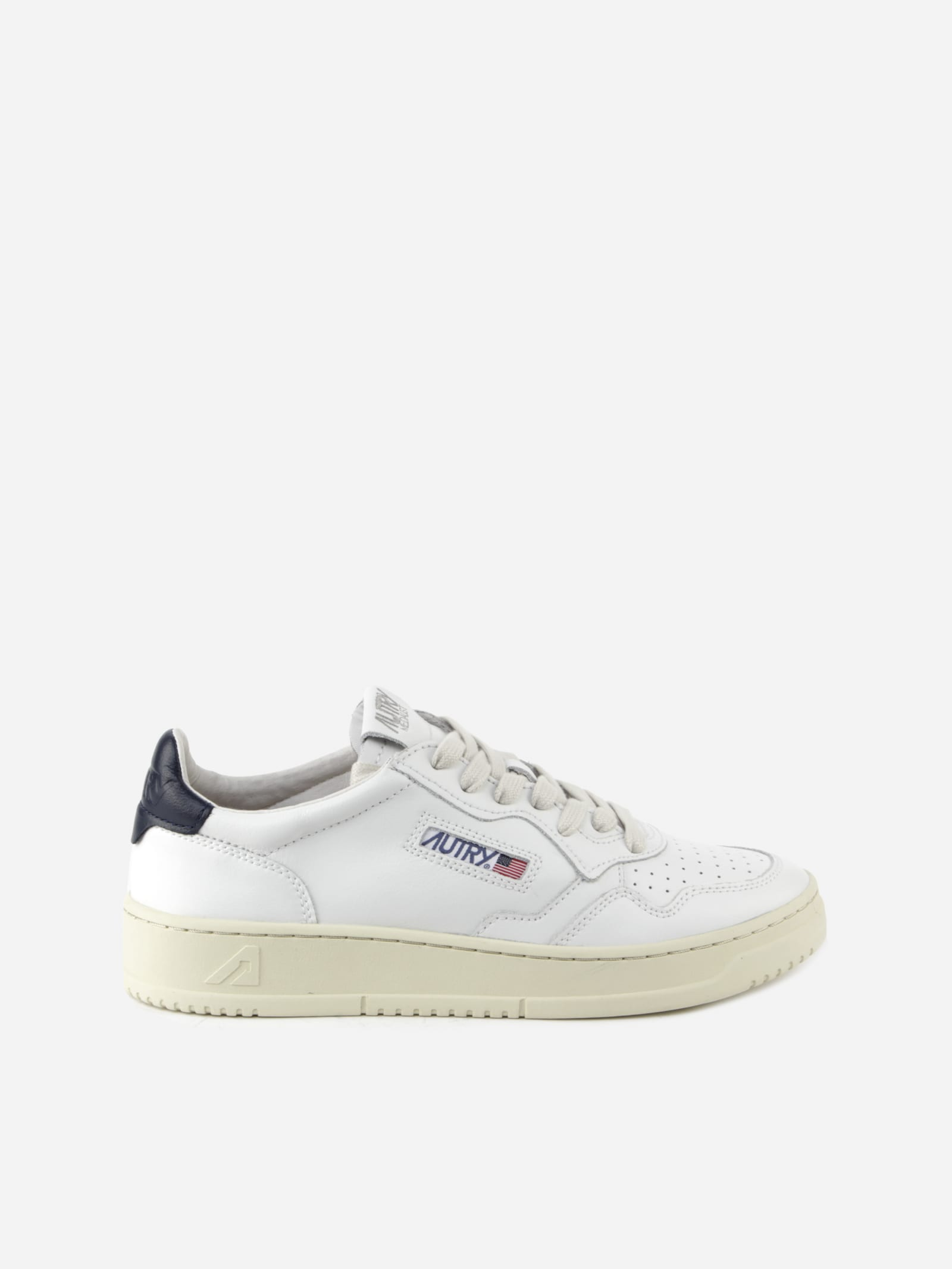 Autry WHITE LEATHER SNEAKERS