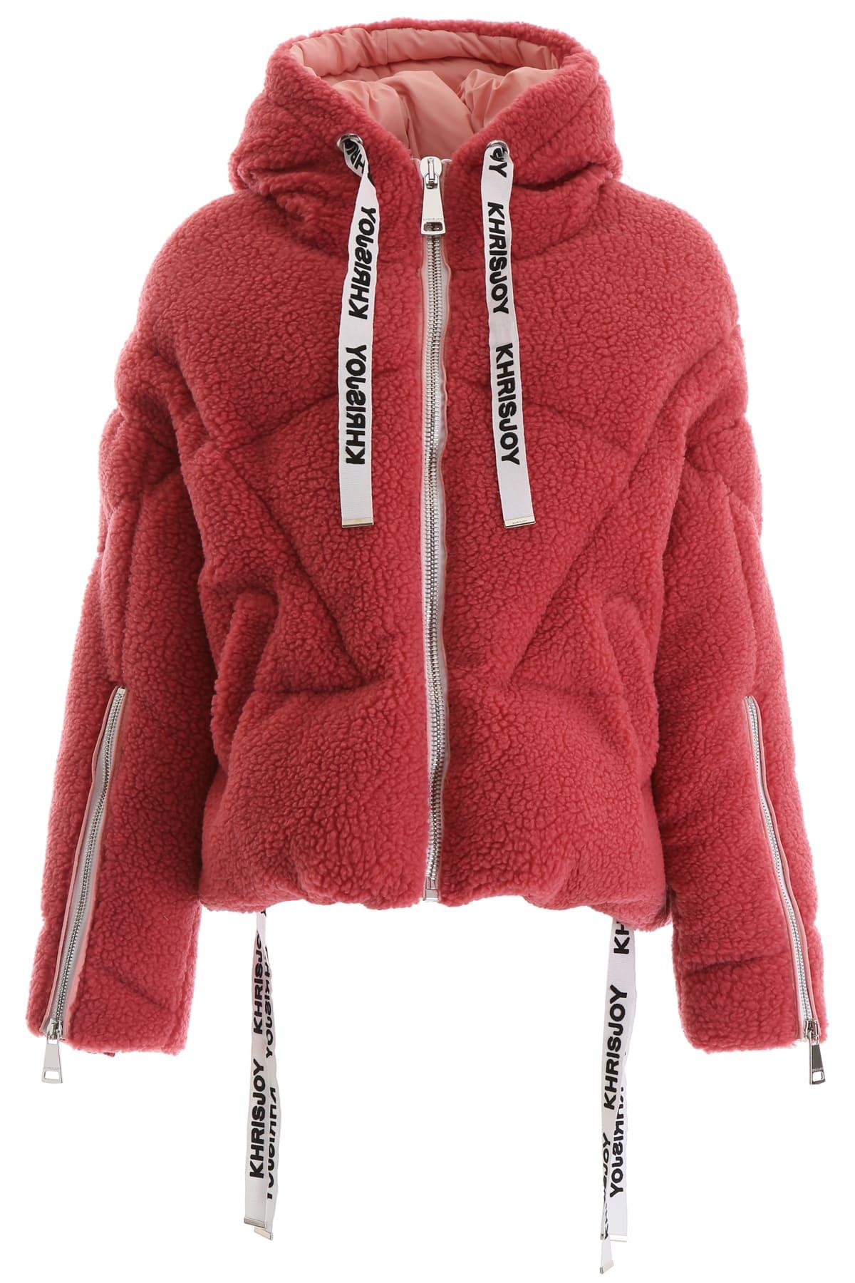 Khrisjoy Faux Shearling Khris Puffer Jacket