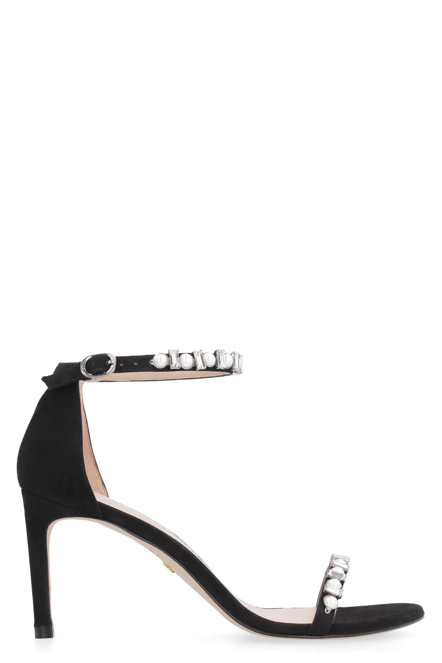 Buy Stuart Weitzman Sue Suede Sandals online, shop Stuart Weitzman shoes with free shipping