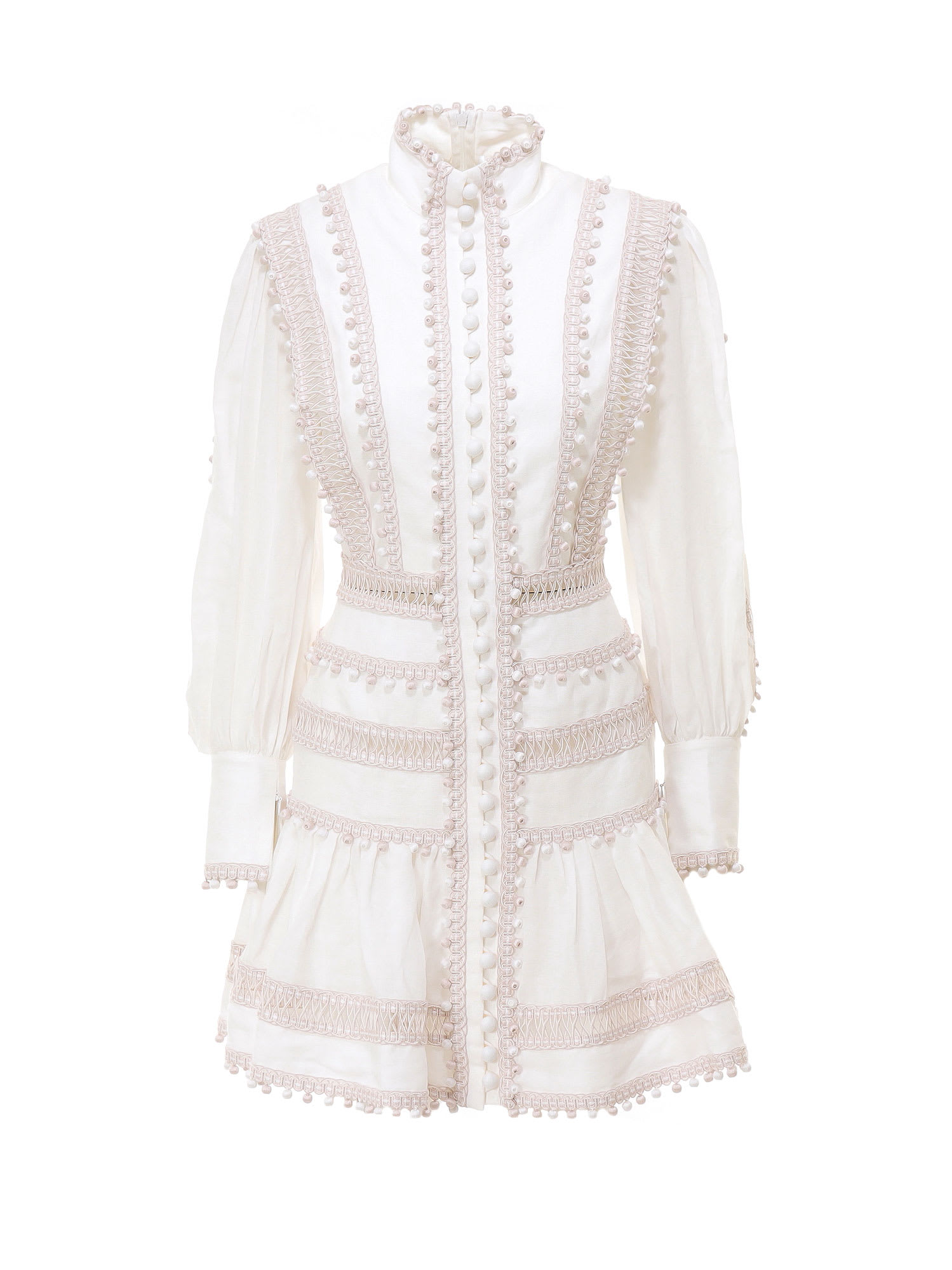 Buy Zimmermann Mini Dress online, shop Zimmermann with free shipping