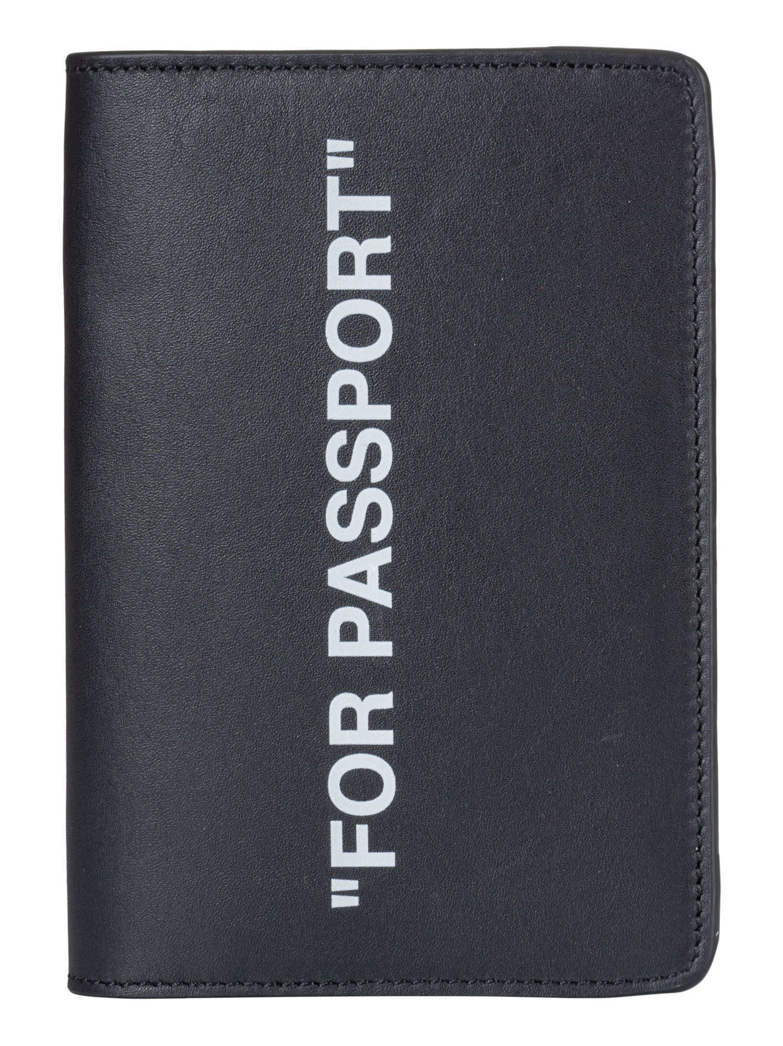 Off-White Quote Passport Wallet