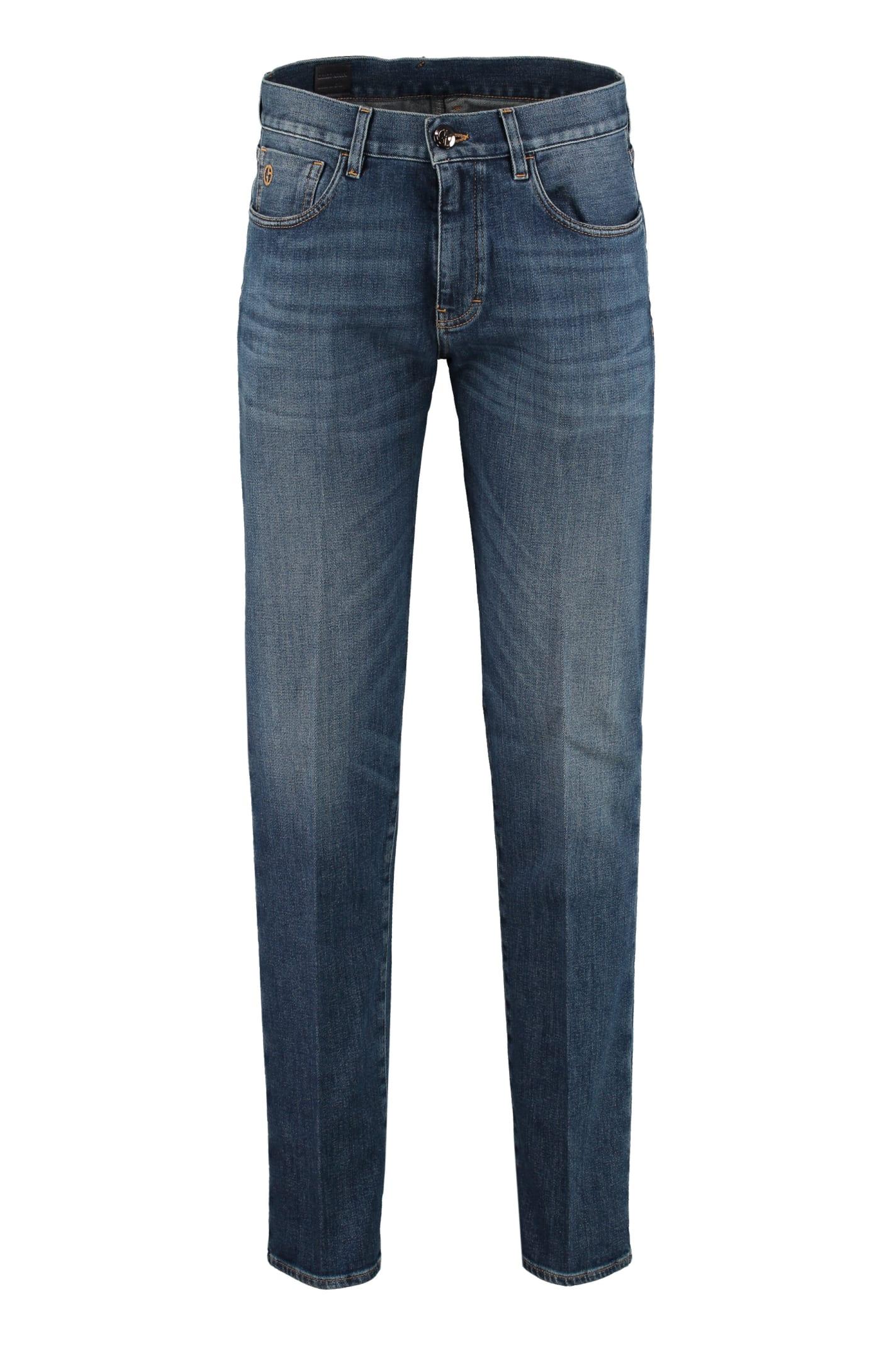 Giorgio Armani Slim Tapered Fit Jeans