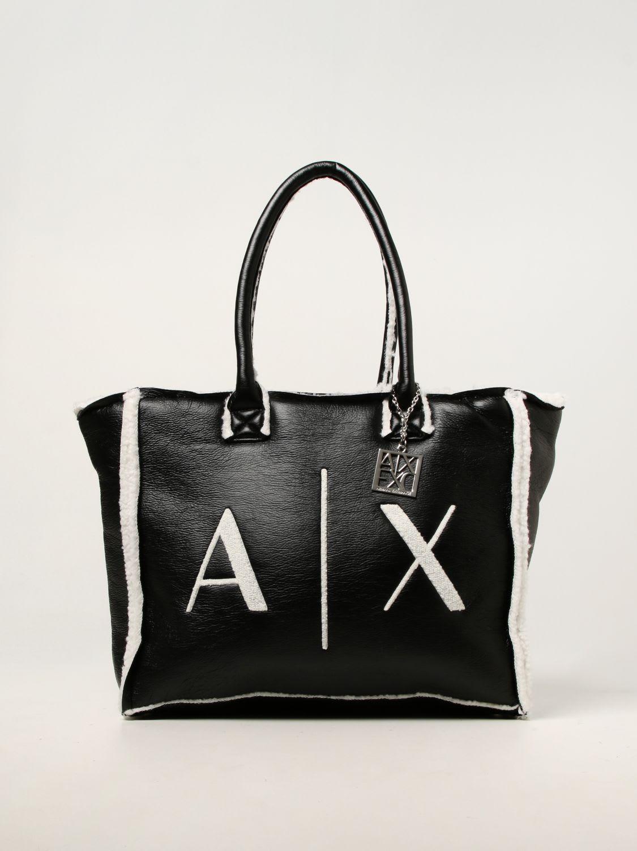 Armani Exchange Tote Bags Armani Exchange Bag In Synthetic Leather