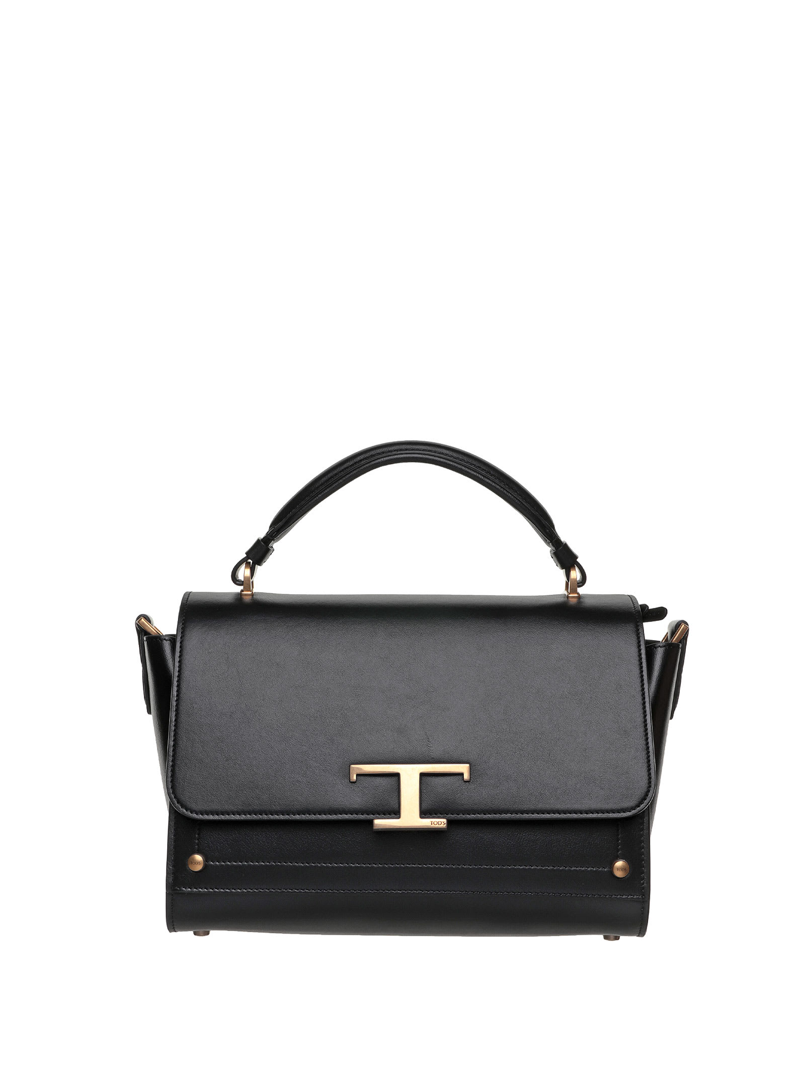 Tods Tods Black Leather Bag
