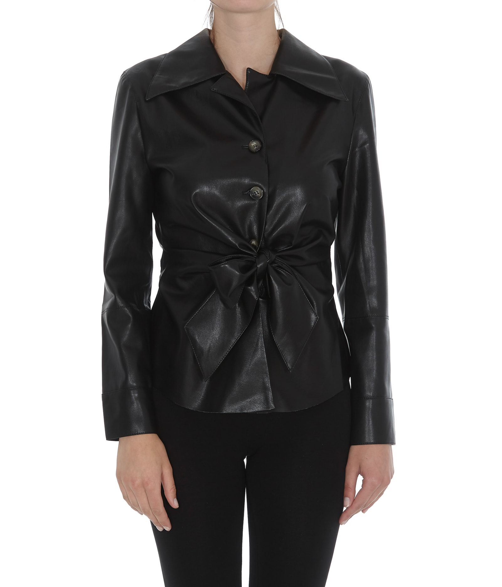Nanushka Eco Leather Shirt