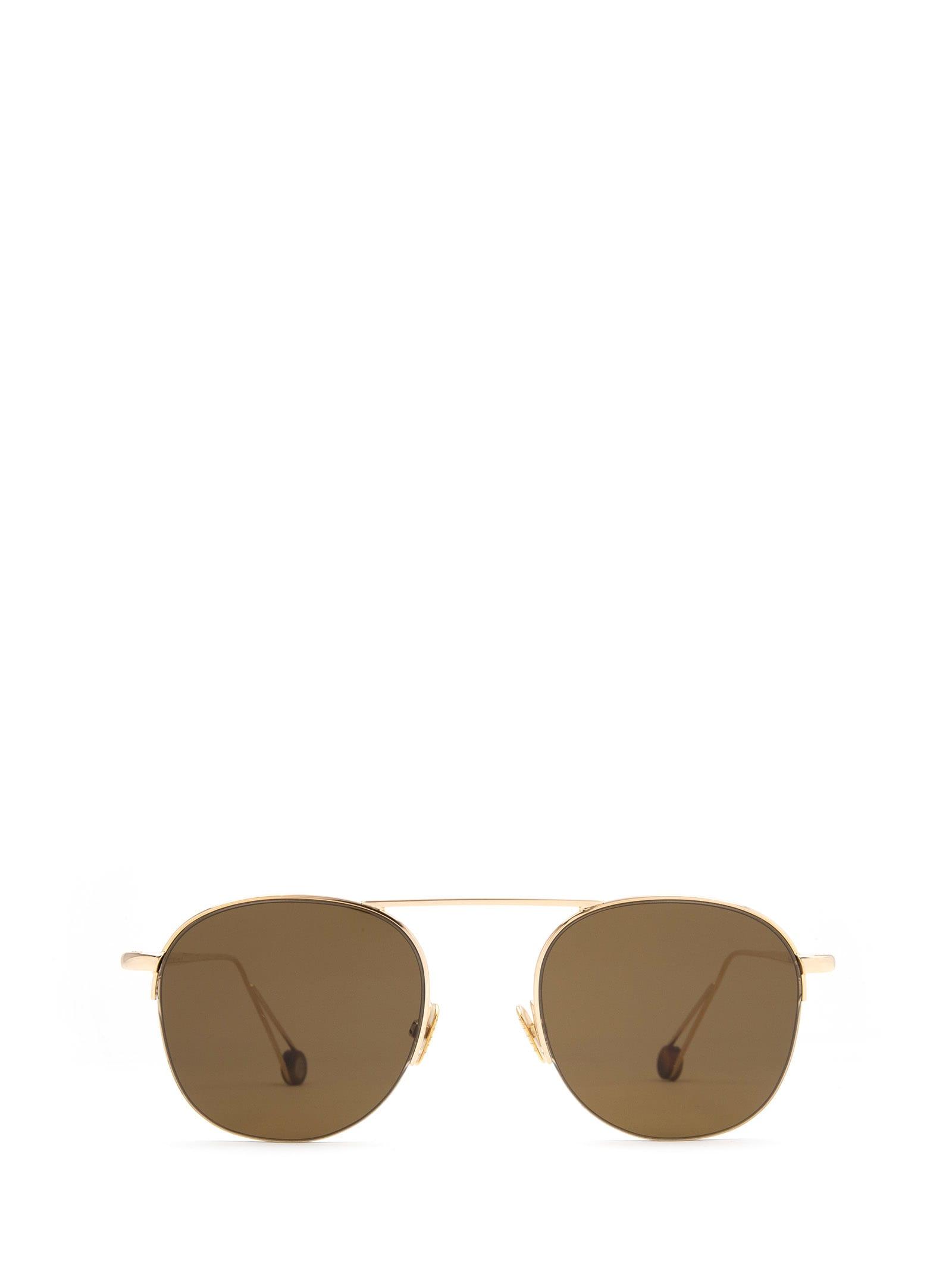 AHLEM Ahlem Place Voltaire Champagne Sunglasses
