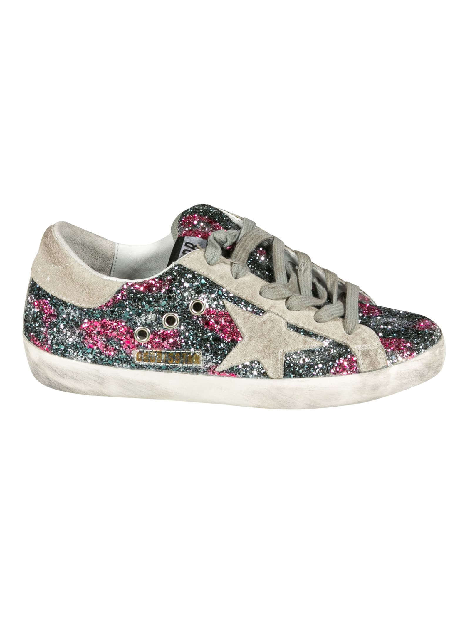 Buy Golden Goose Super-star Classic Sneakers online, shop Golden Goose shoes with free shipping