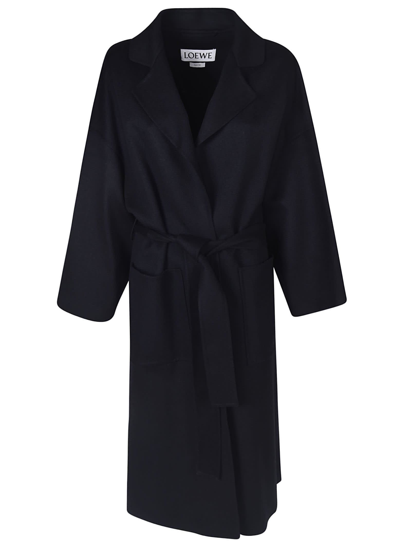 Loewe Belted-tied Coat