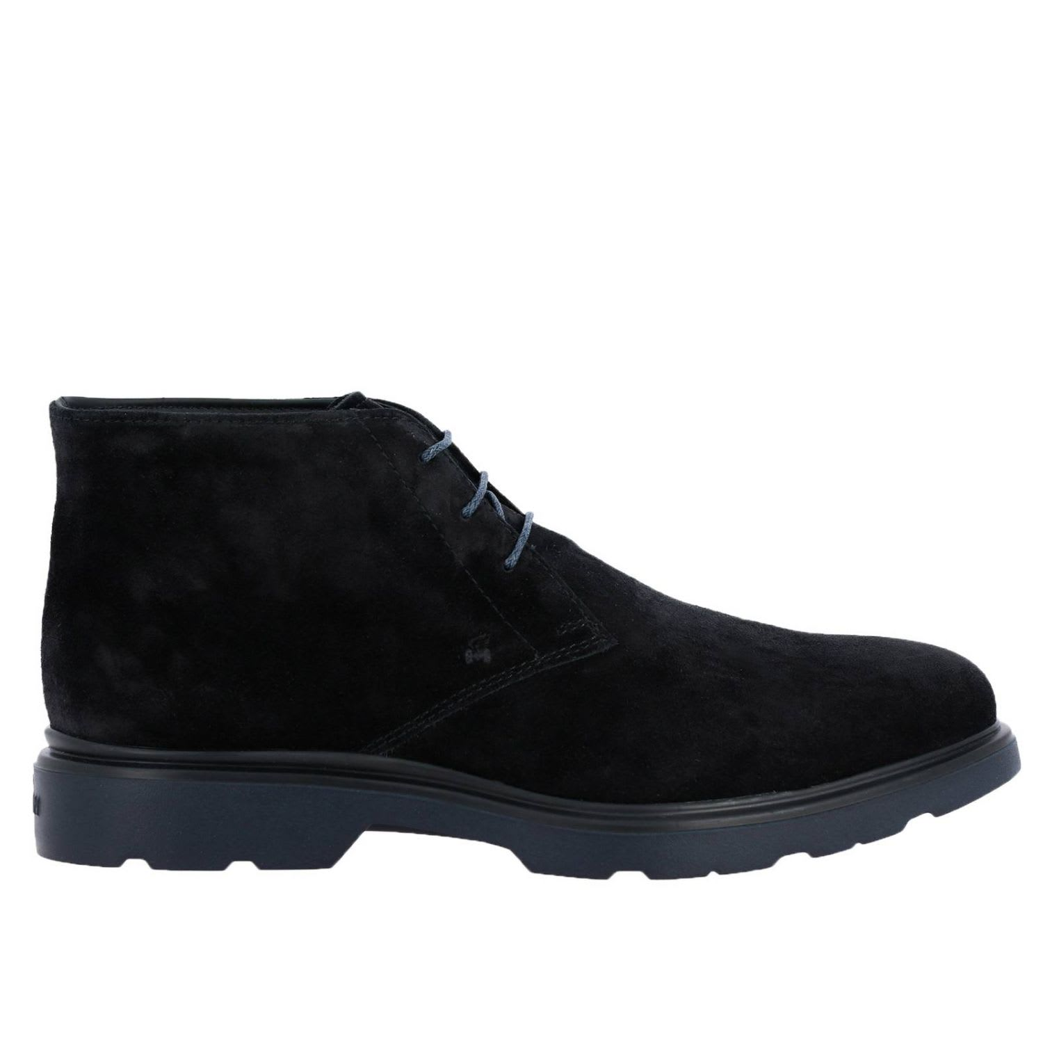 Hogan Chukka Boots Route 393 Ankle Boots (h304 + Memory Sole) Hogan In Suede