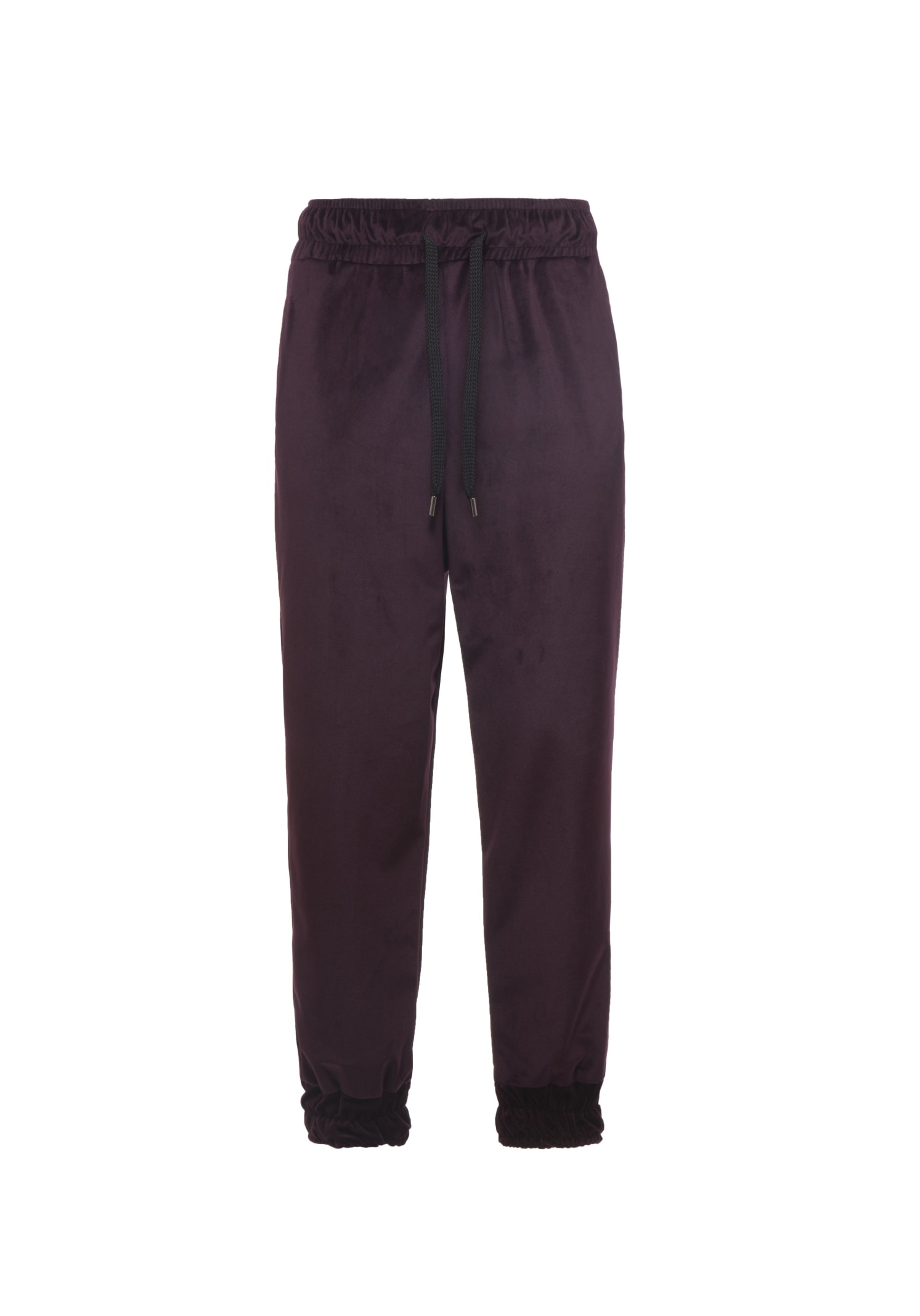 Pants Velour Purple