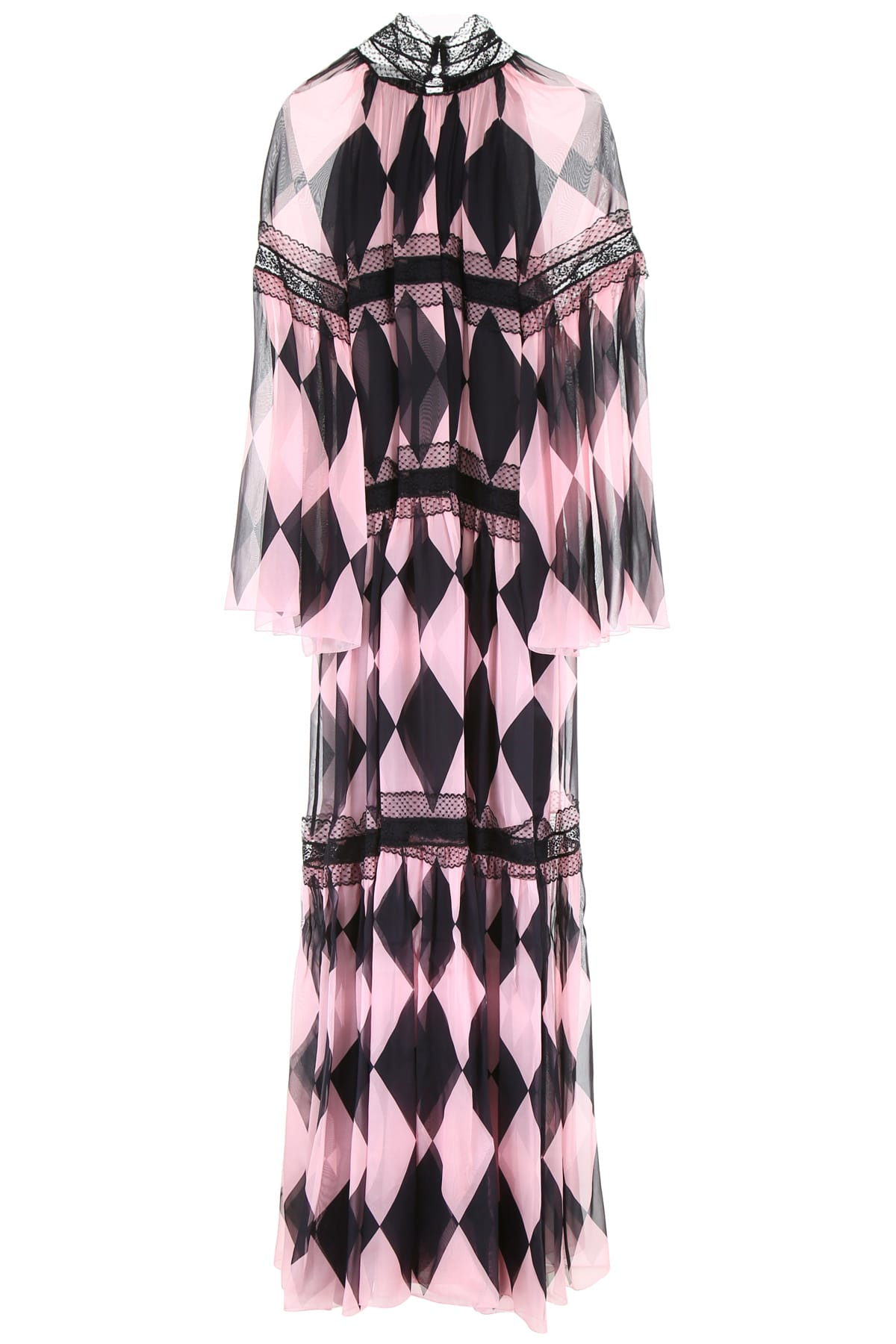 Philosophy di Lorenzo Serafini Printed Long Dress
