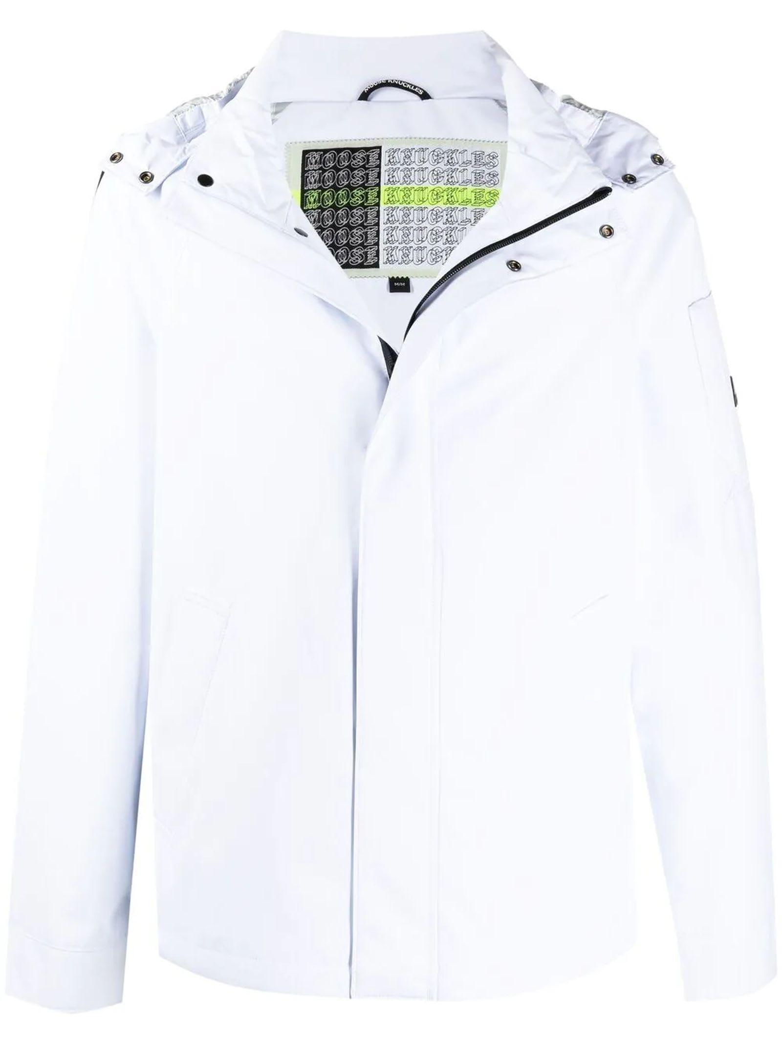 Moose Knuckles Jackets WHITE JACKET