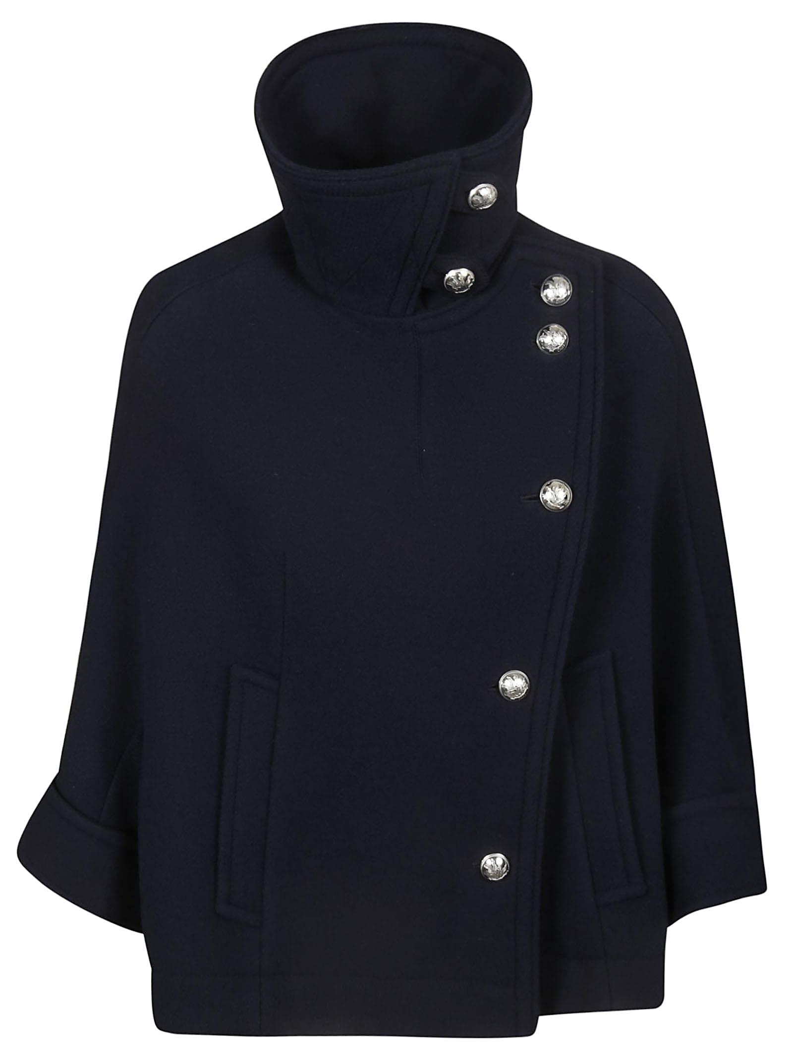 Chloé One Sided High Neck Jacket