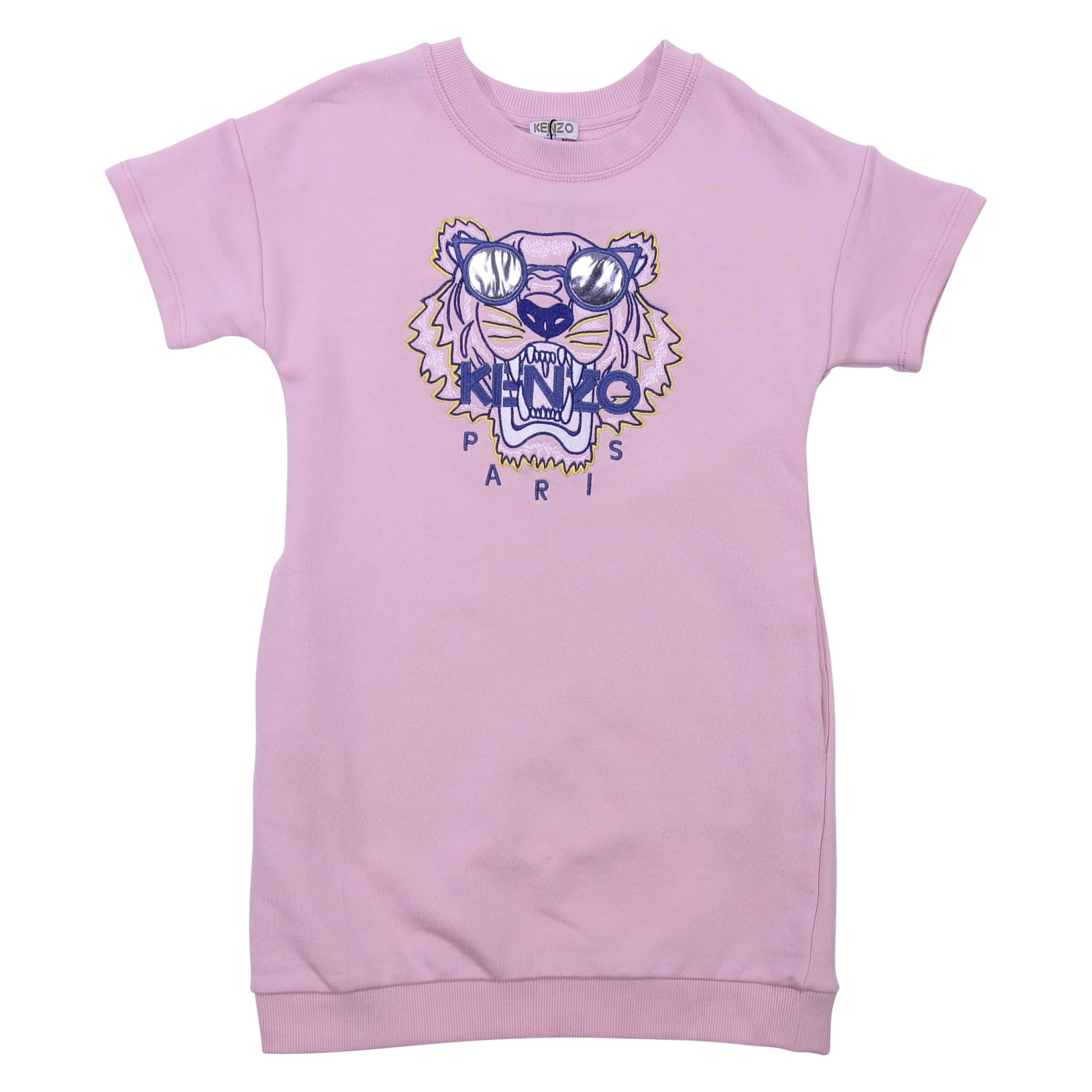 Kenzo Pink Cotton Dress
