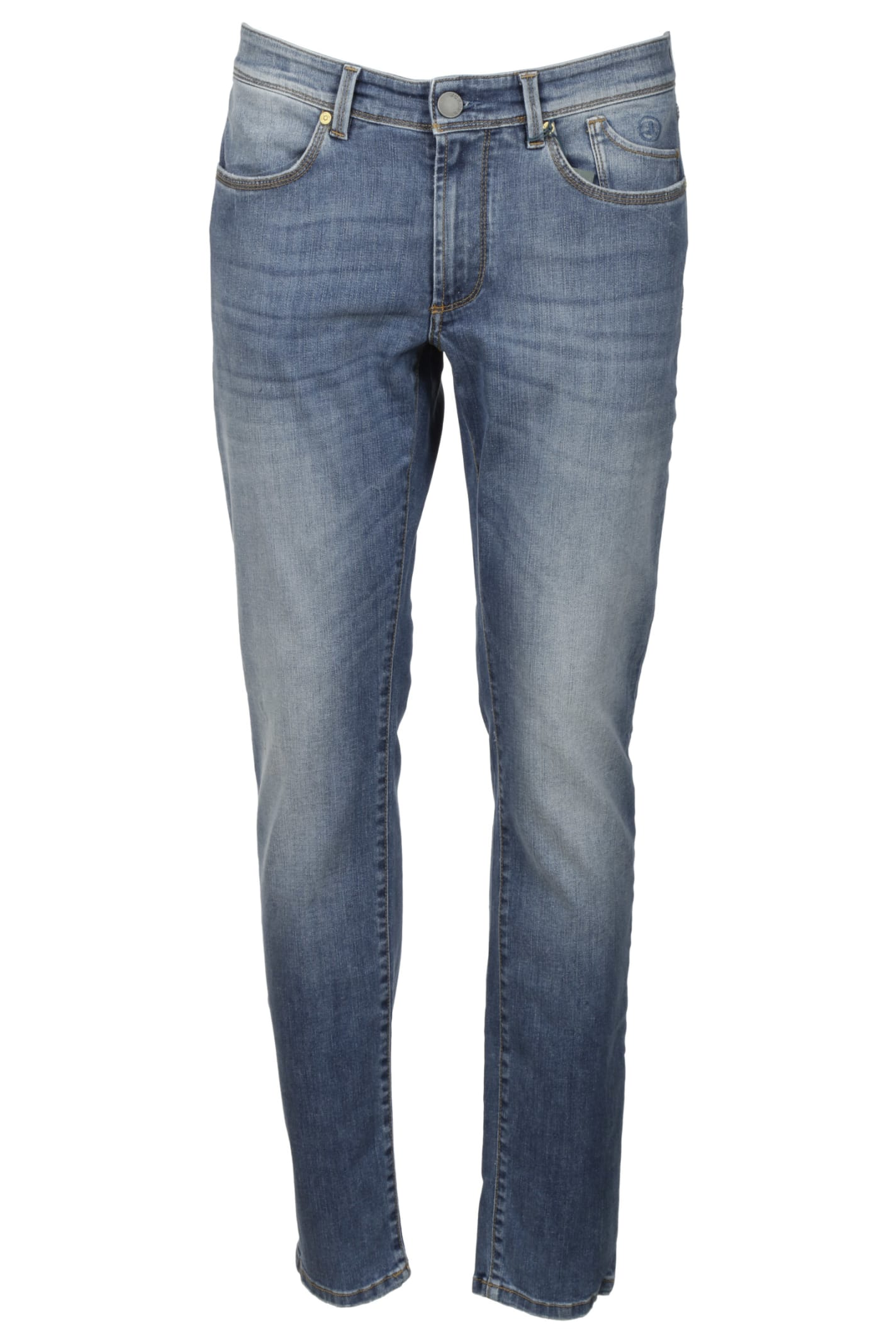 5 Pockets Slim Jeans