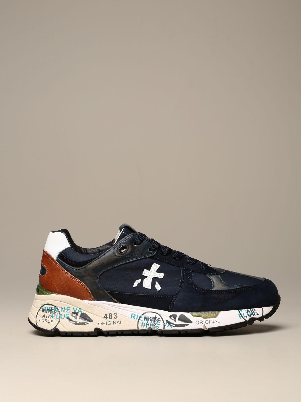 Premiata Sneakers Mase Premiata Sneakers In Suede And Nylon