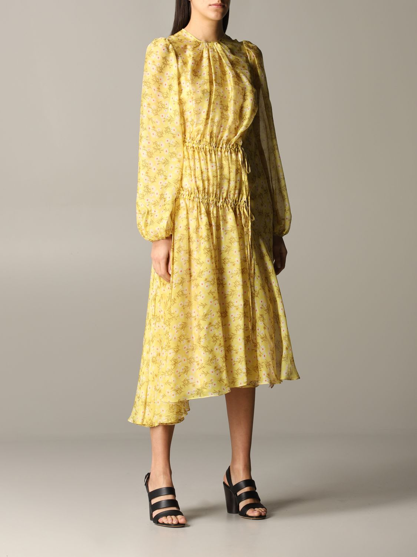 N° 21 Dress N ° 21 Dress With Floral Pattern