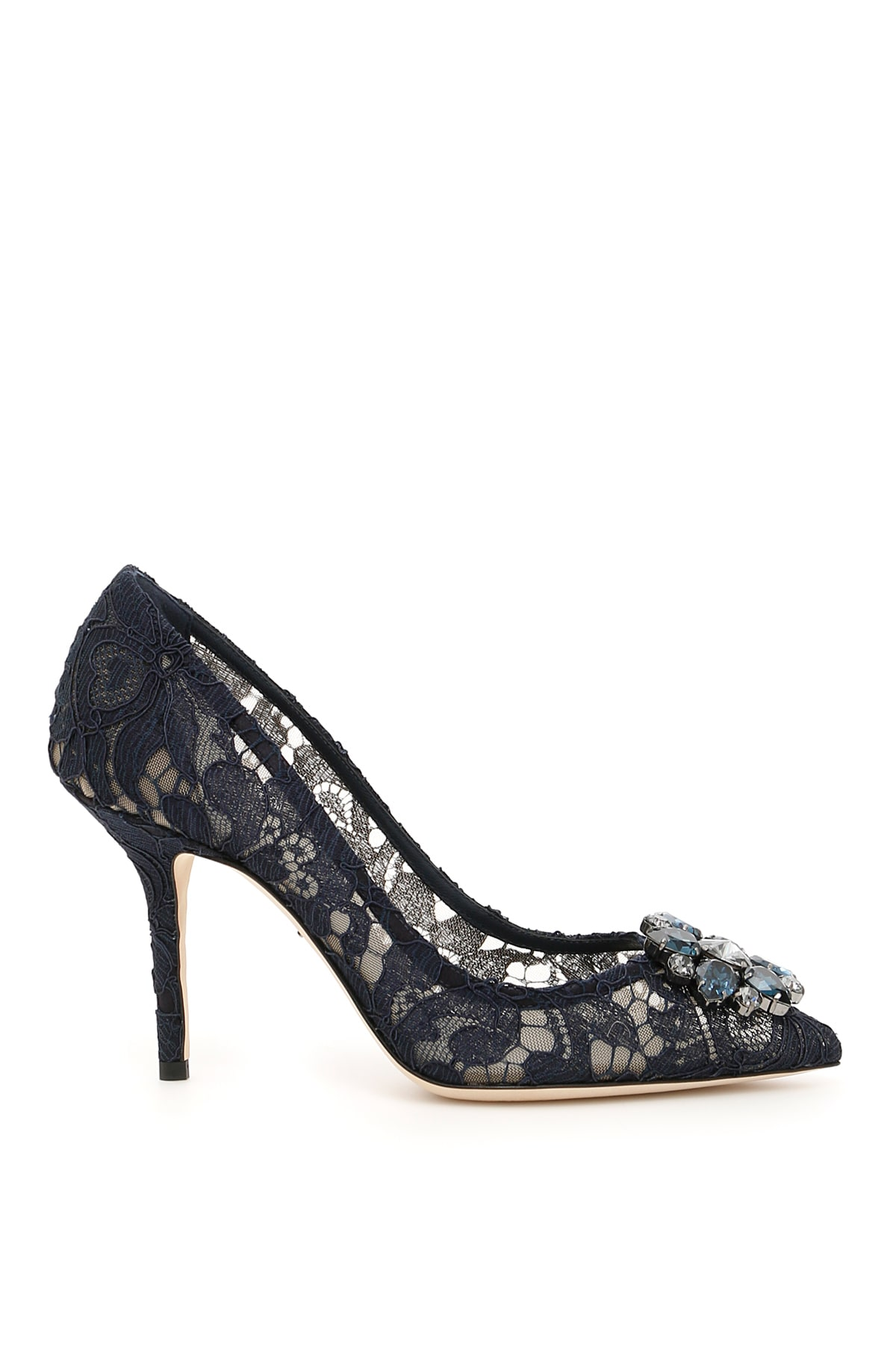 Dolce & Gabbana LACE BELLUCCI PUMPS