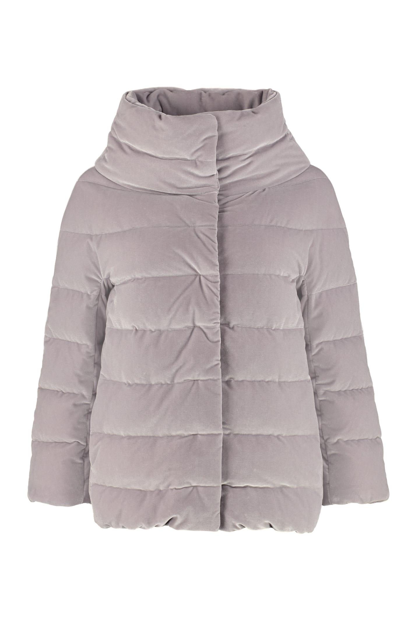 Herno Velvet Down Jacket