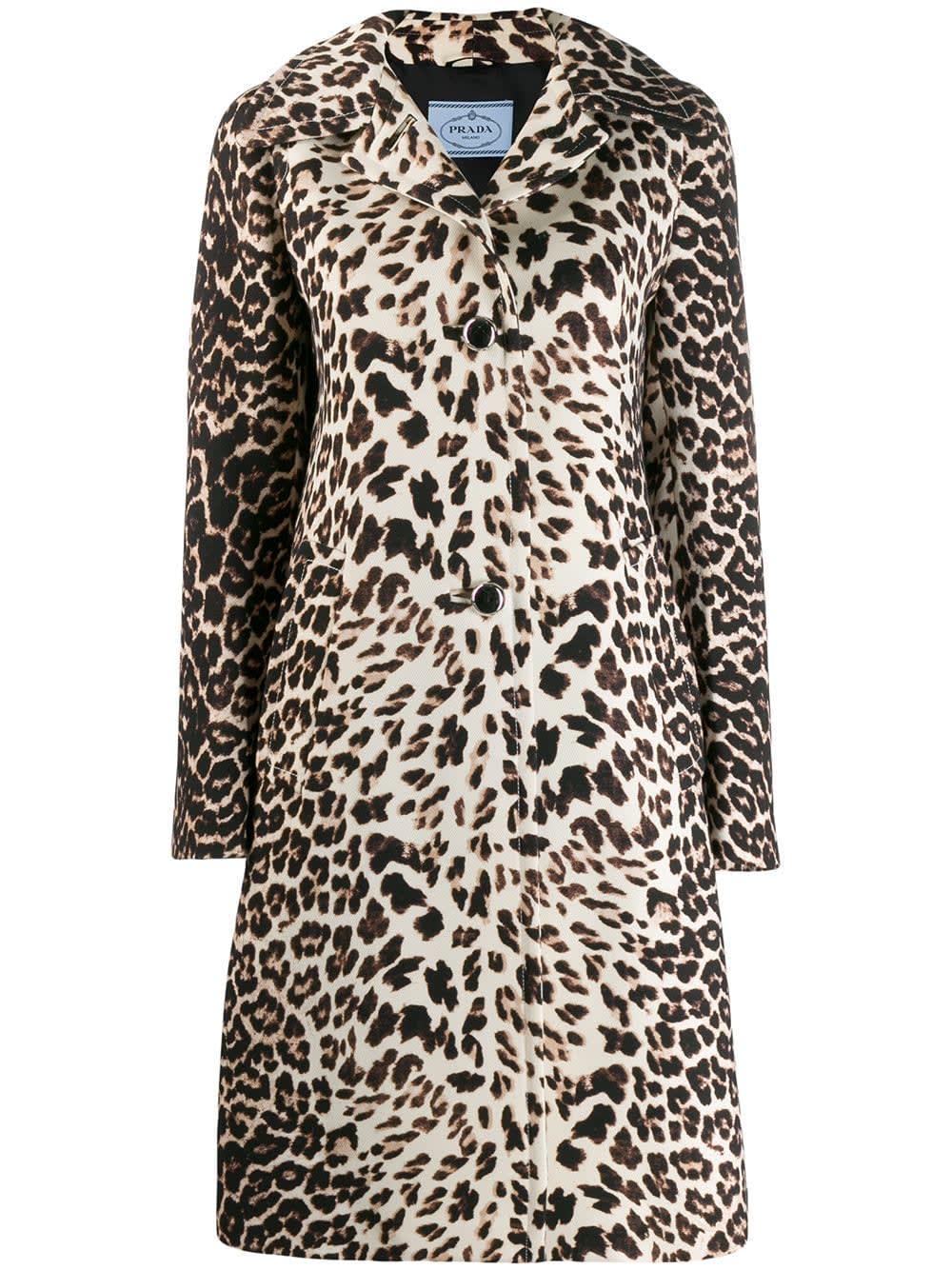 Prada Coat Leopard