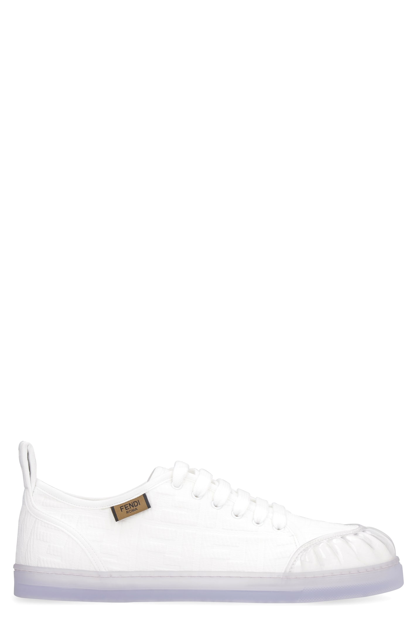 Fendi Promenade Canvas Sneakers