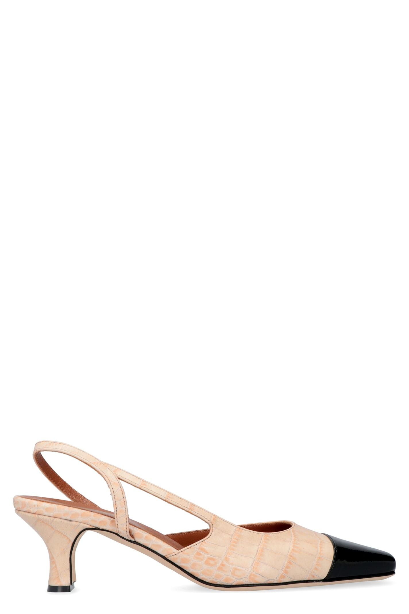 Paris Texas Leather Slingback Pumps