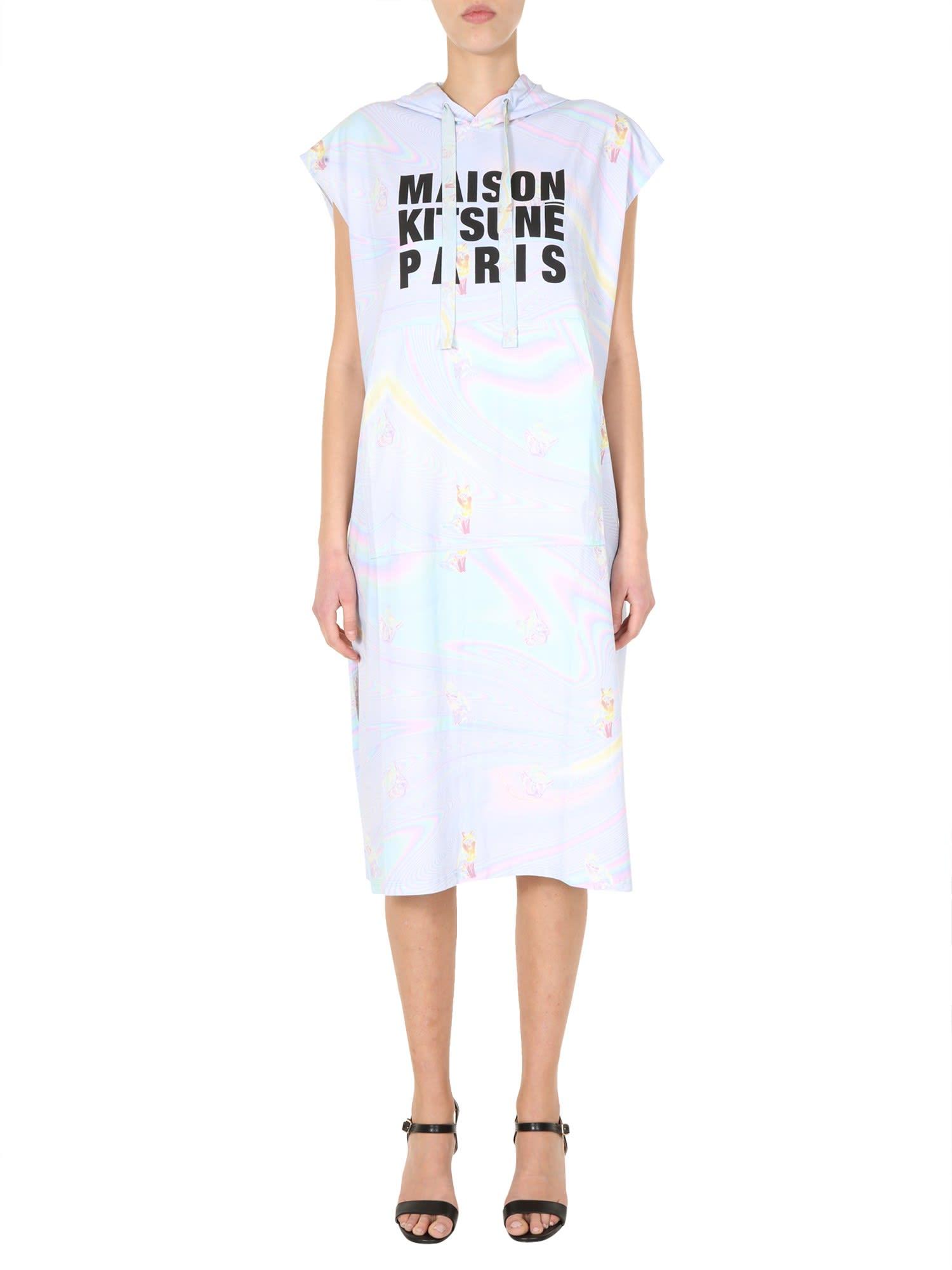 Buy Maison Kitsuné Hooded Dress online, shop Maison Kitsuné with free shipping