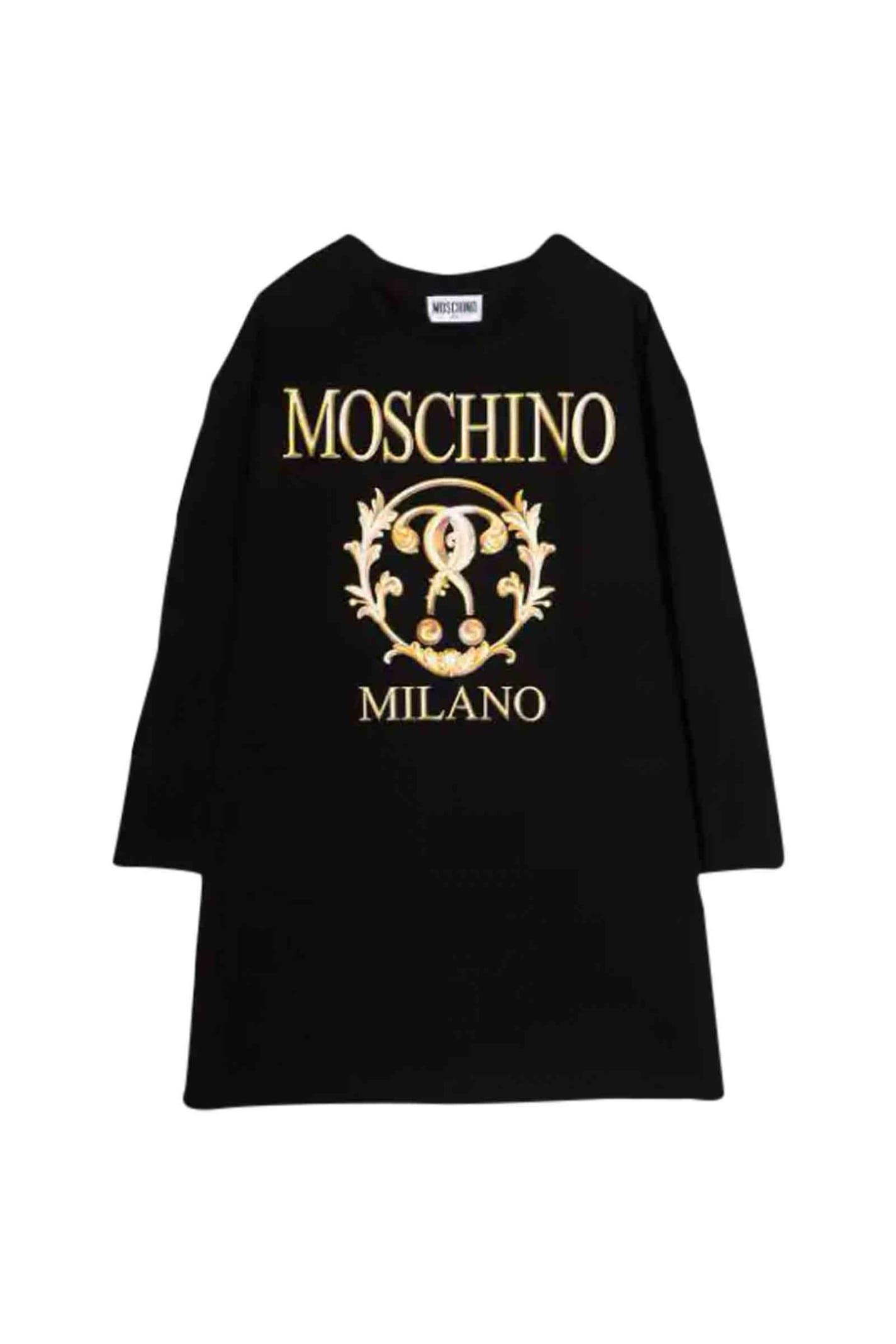 Moschino Dress With Roman Print