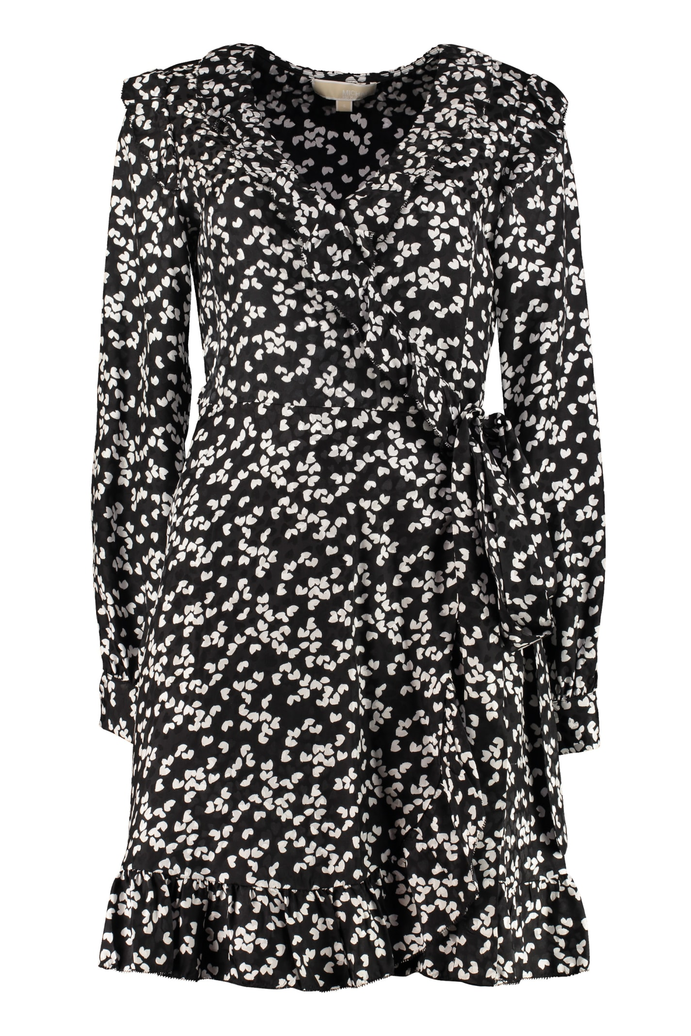 Buy MICHAEL Michael Kors Wrap-dress online, shop MICHAEL Michael Kors with free shipping