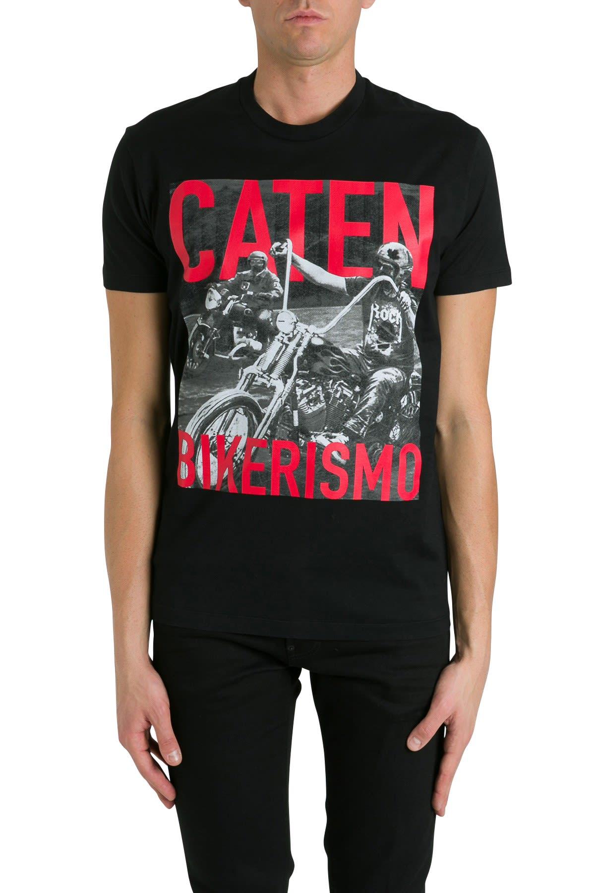 Dsquared2 Caten Bikerismo T-shirt