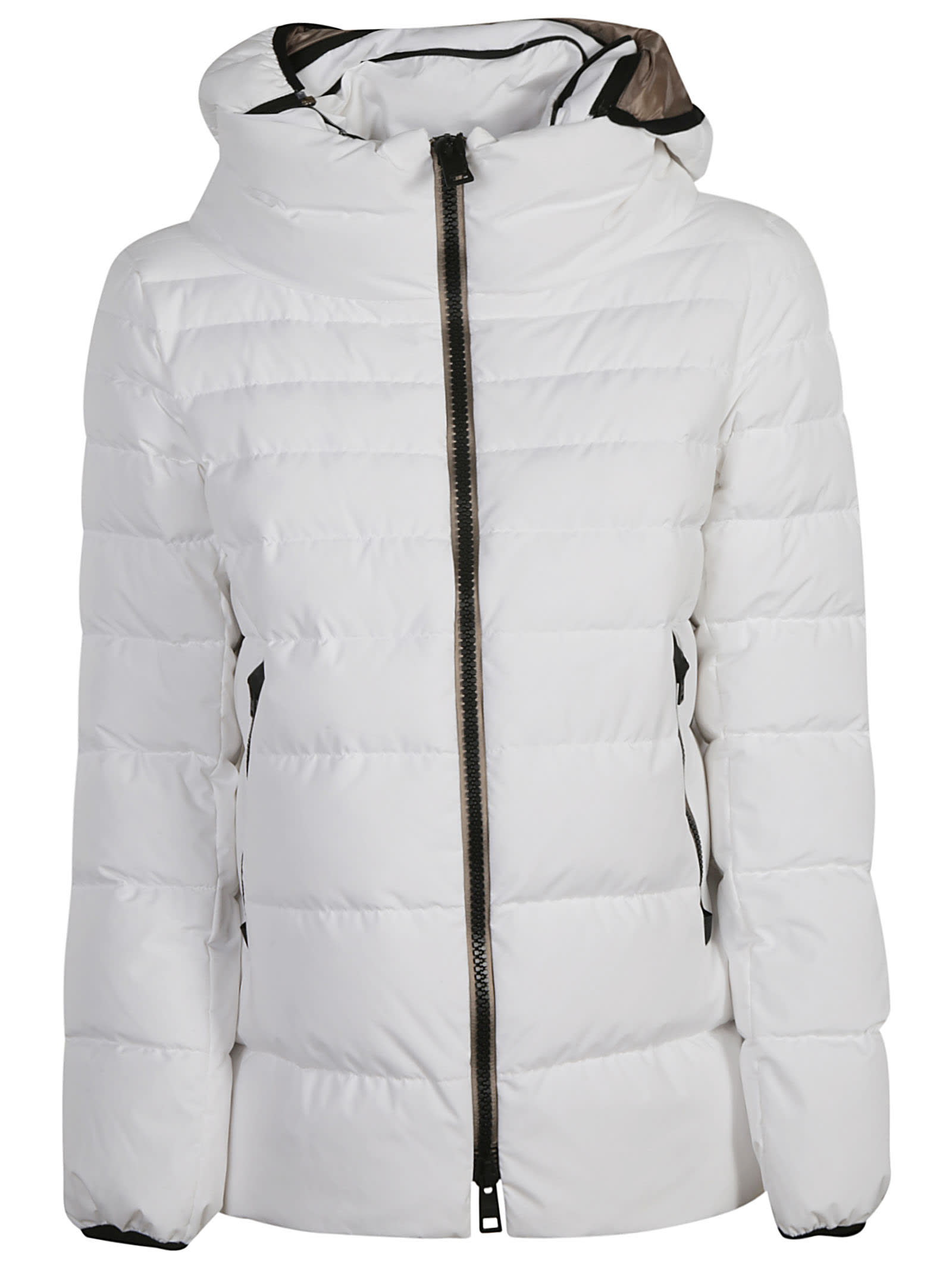 Herno Side Zipped Pocket Zipped Padded Jacket