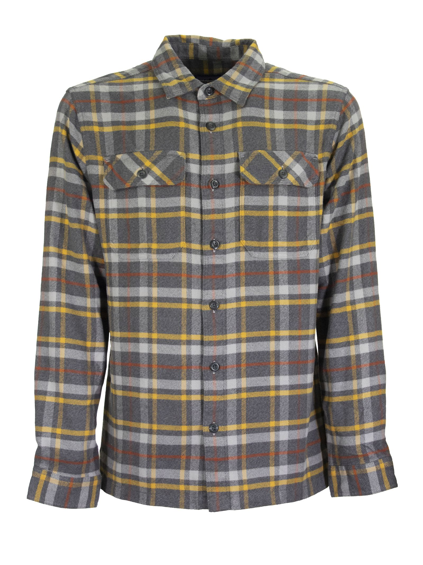 Cheap And Nice Patagonia A Heavyweight 100% Organic Cotton Long-sleeved Flannel Shirt - Top Quality