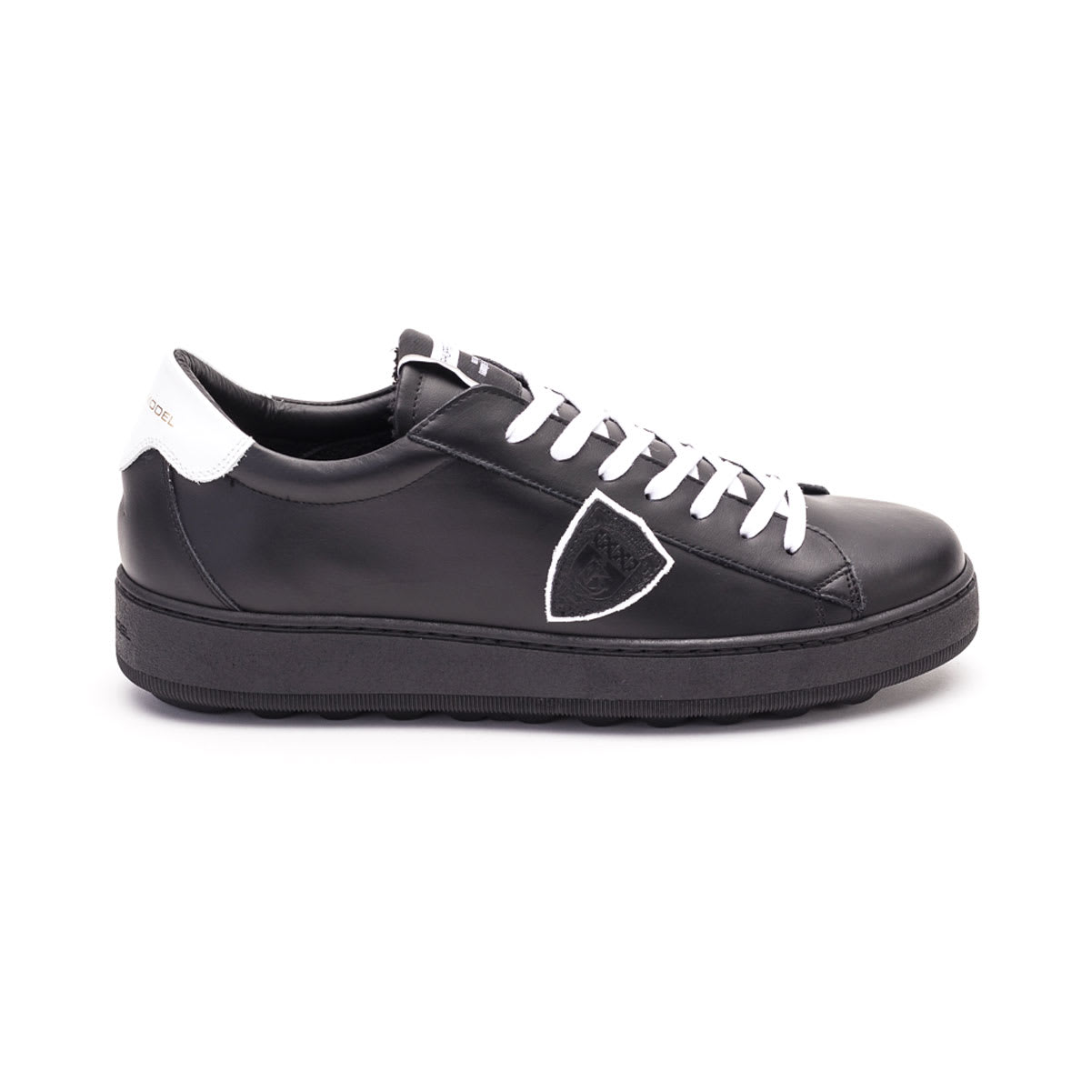 Philippe Model Madeleine Veau Noir Lether Sneakers