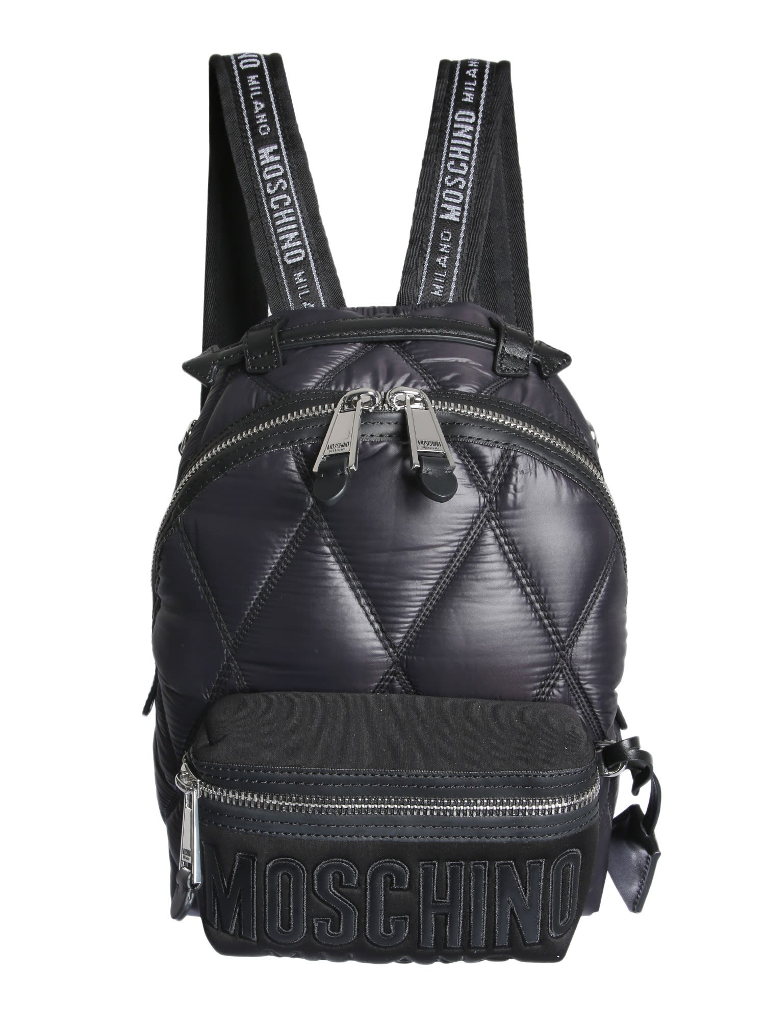 664f5175a Moschino Quilted Backpack