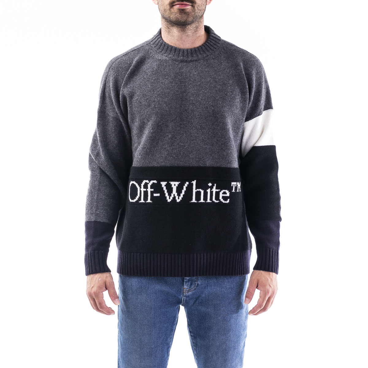 Off-White OFF-WHITE VIRGIN WOOL SWEATER