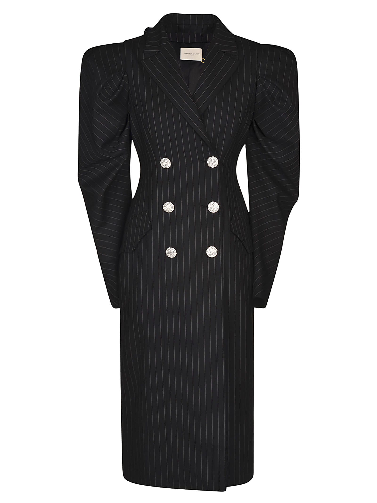 Buy Giuseppe di Morabito Double-breasted Stripe Dress online, shop Giuseppe di Morabito with free shipping