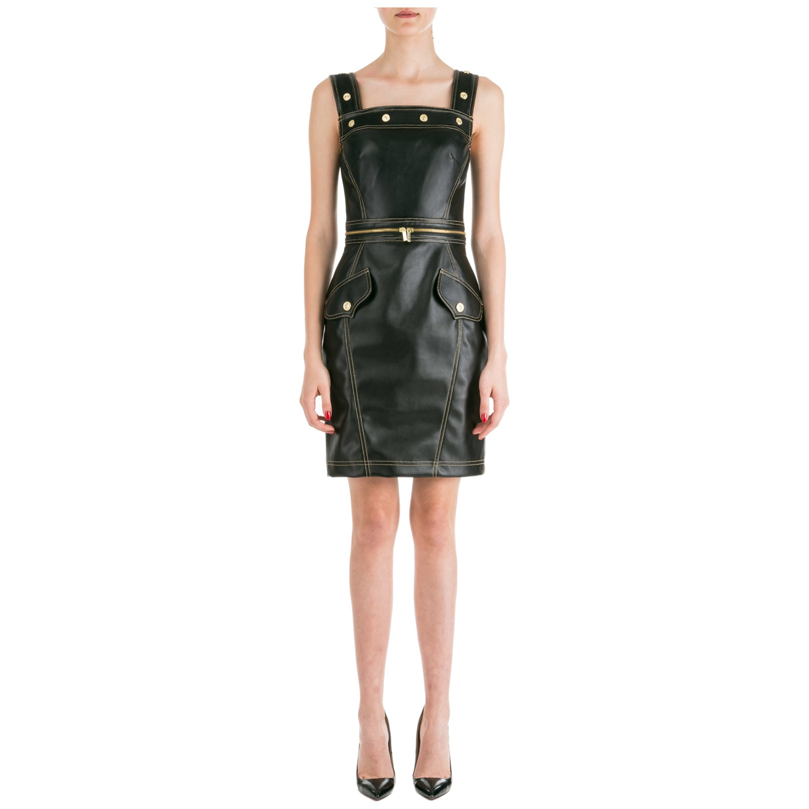 Versace Jeans Couture Short Mini Dress Sleeveless