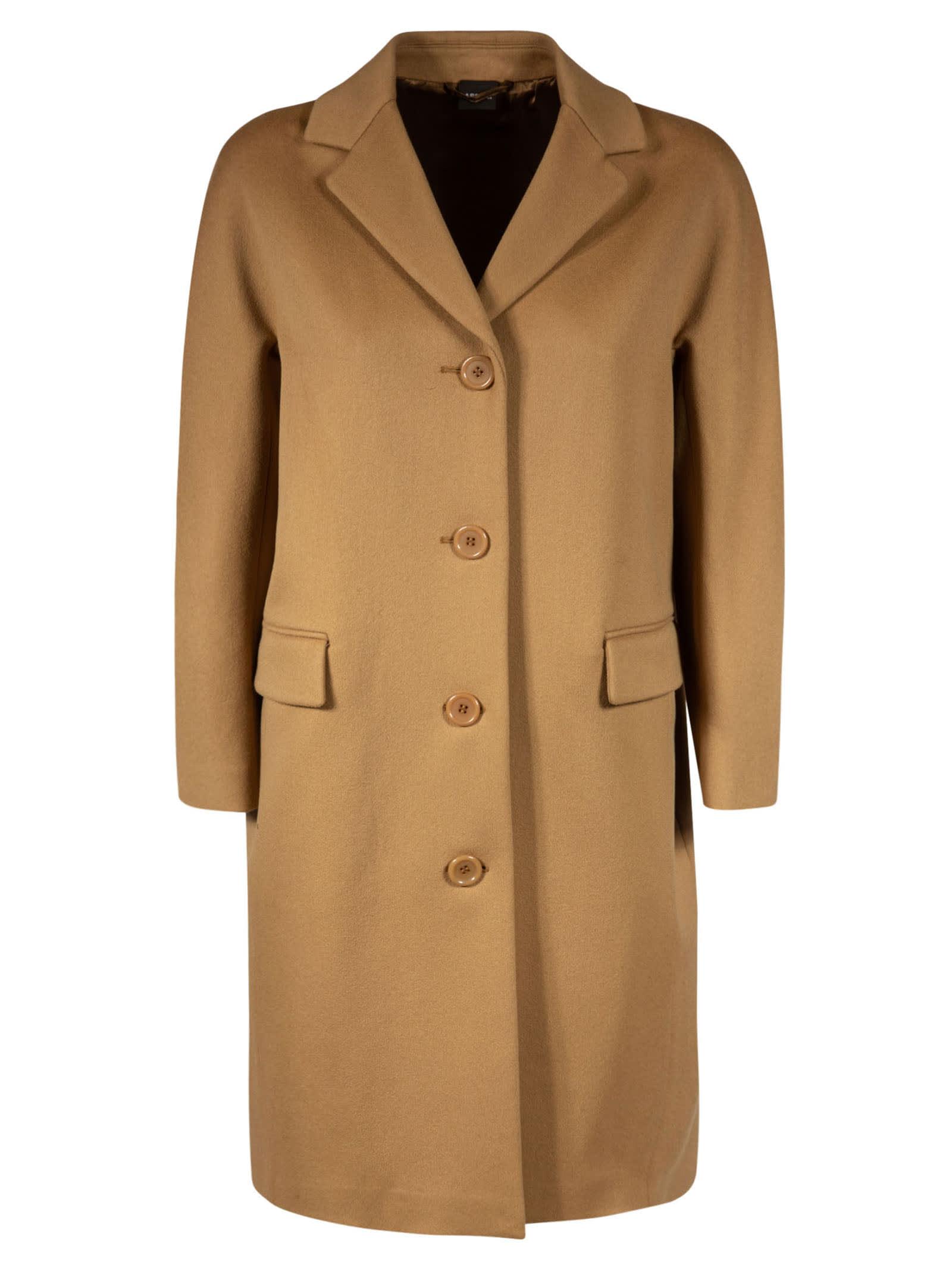 Aspesi Classic Buttoned Coat