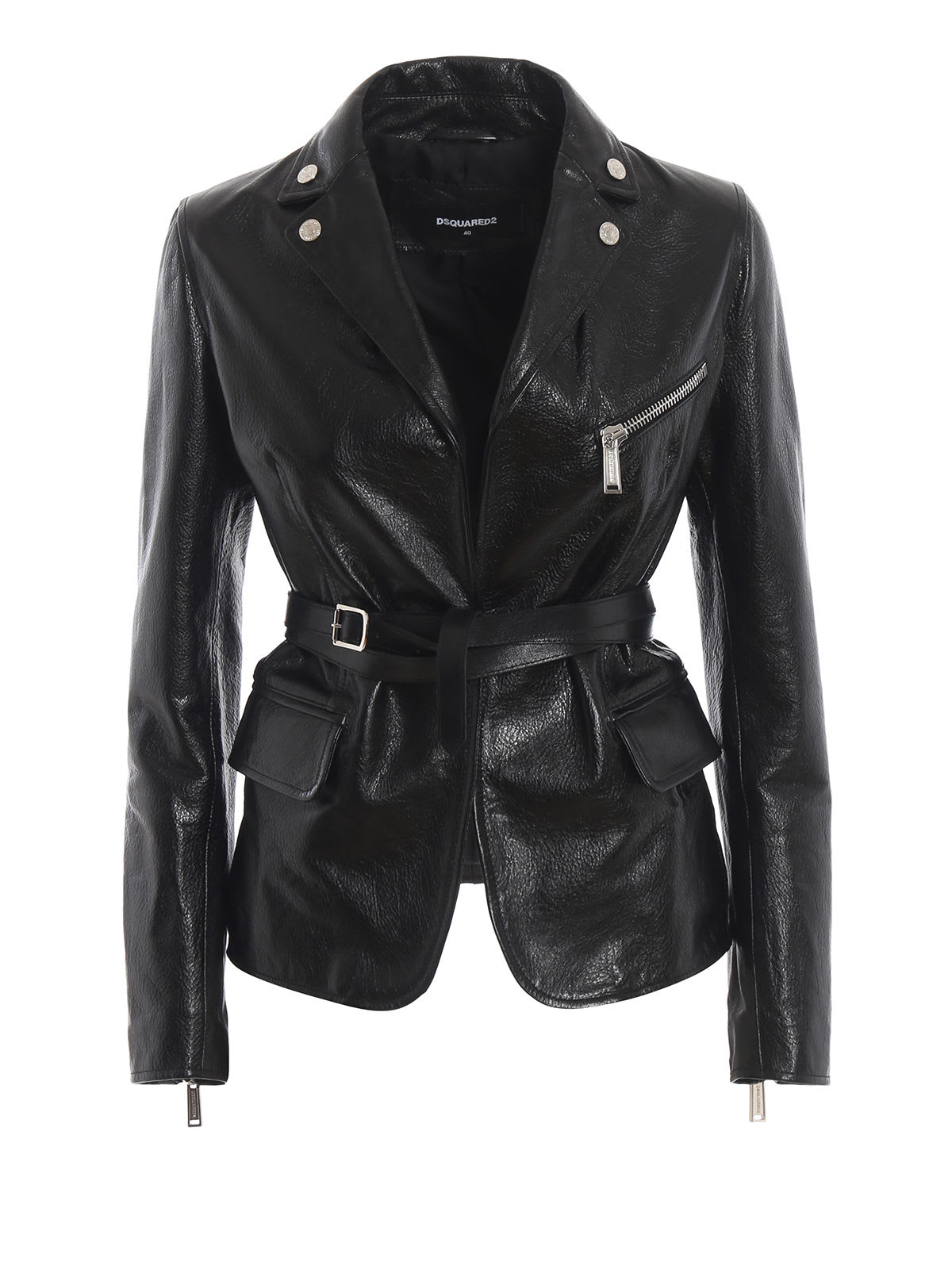 Dsquared2 Fitted Biker Jacket