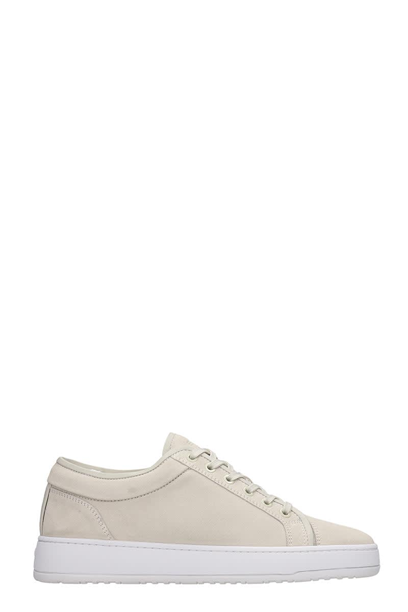 Etq Lt 01 Sneakers In Beige Suede