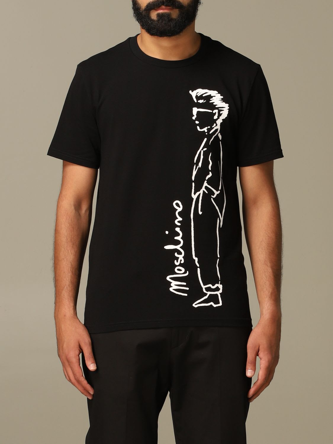 Moschino Couture T-shirt Moschino Couture T-shirt With Moschino Character Logo