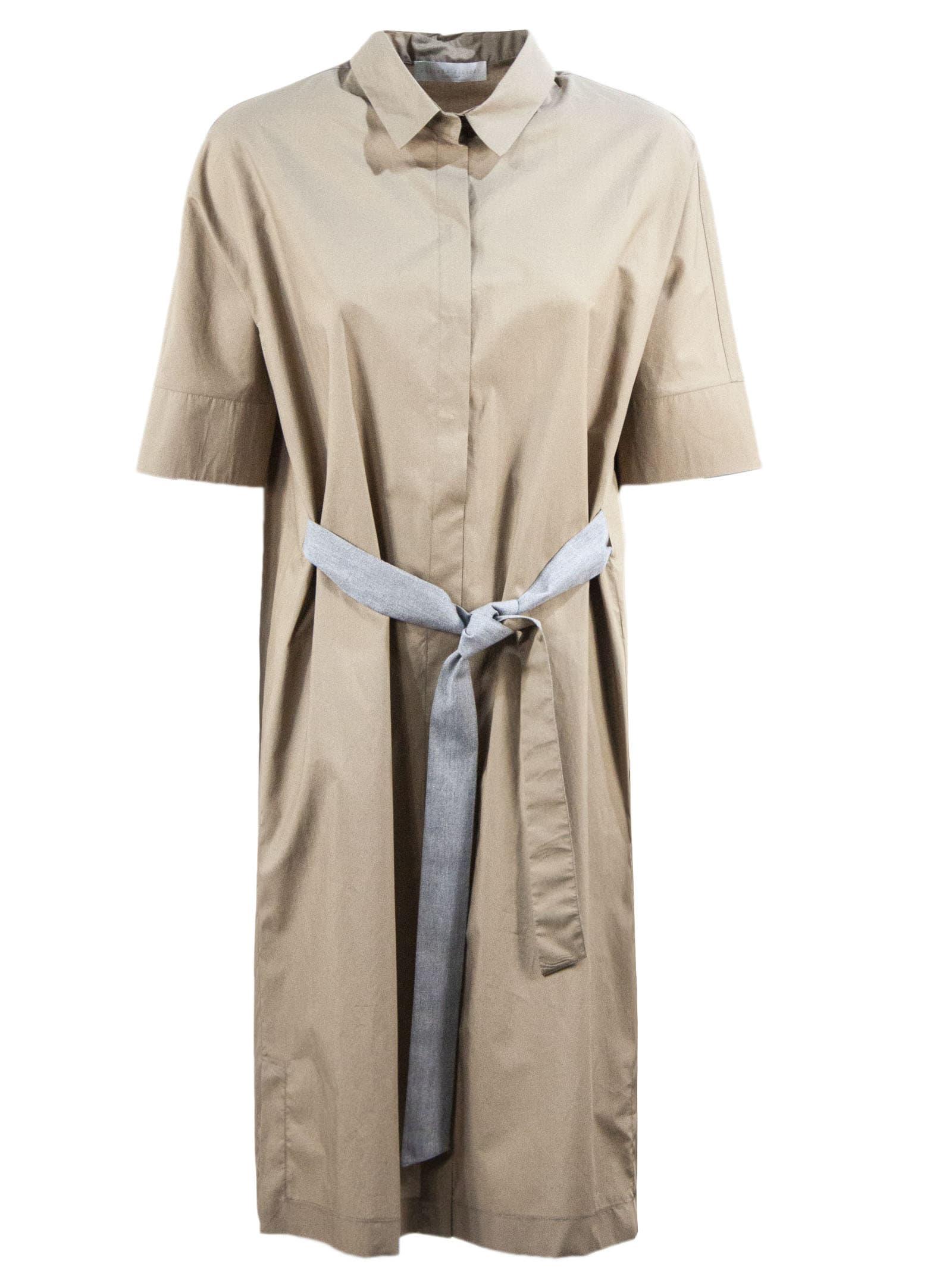 Buy Fabiana Filippi A-line Smock Dress online, shop Fabiana Filippi with free shipping